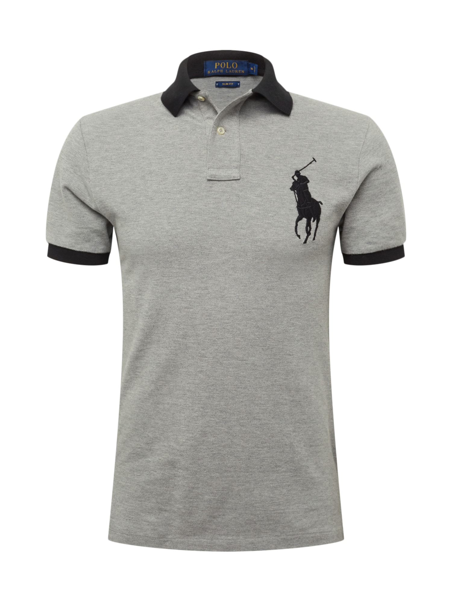 Tričko SS KC SLIM FIT MODEL 1 šedá POLO RALPH LAUREN