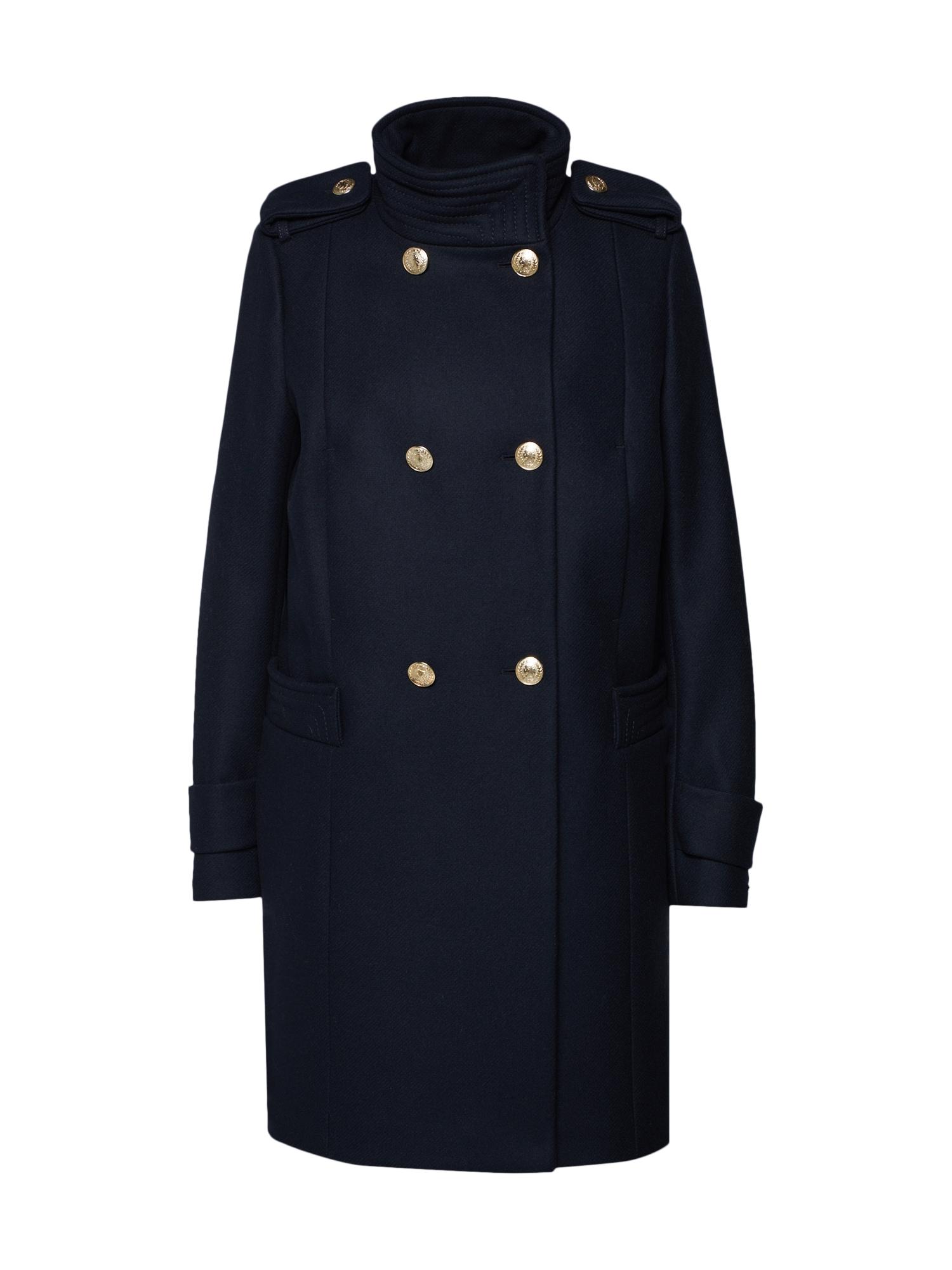 Zimní kabát noční modrá TOMMY HILFIGER