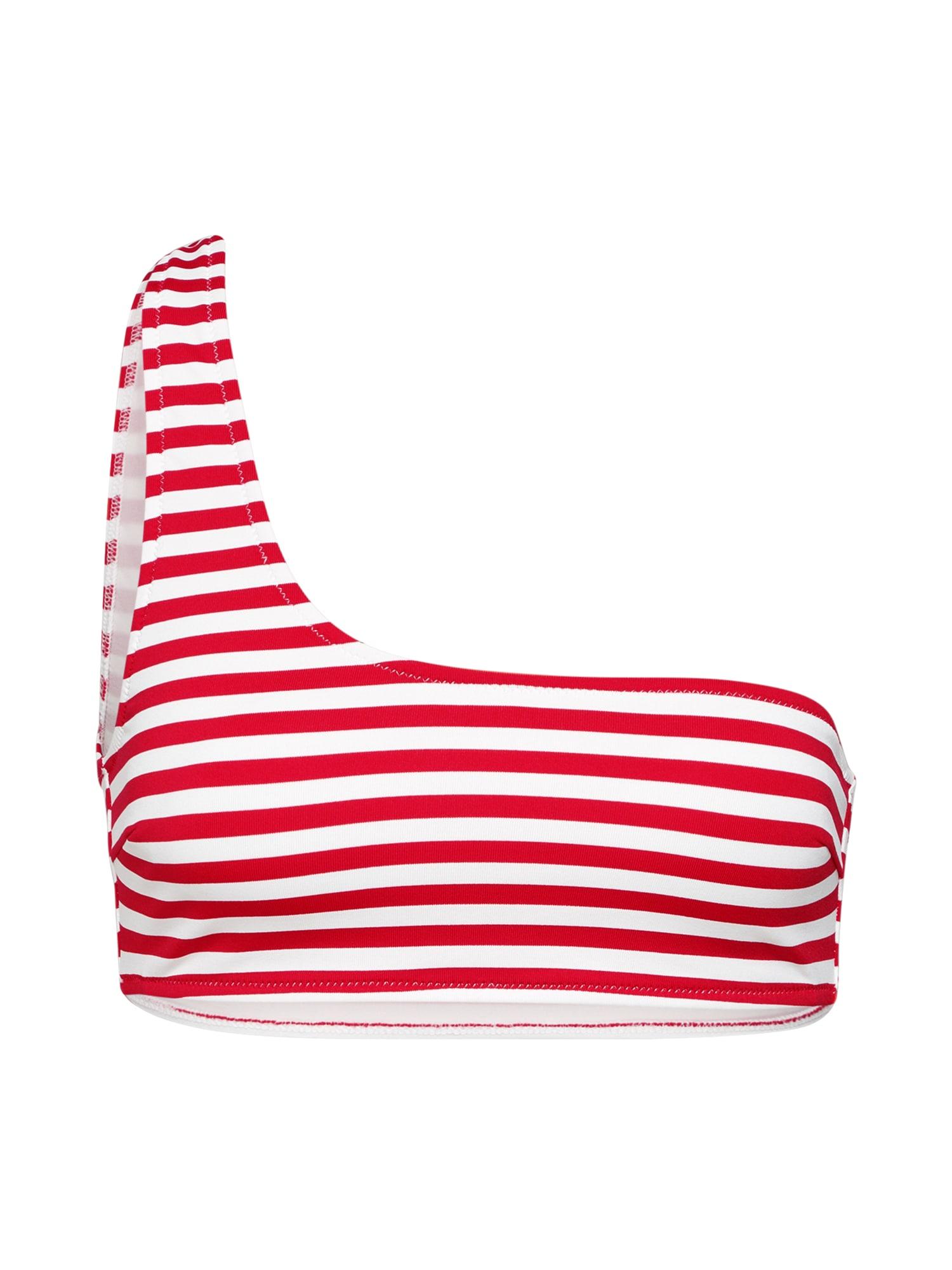Horní díl plavek Midori  červená  bílá EDITED