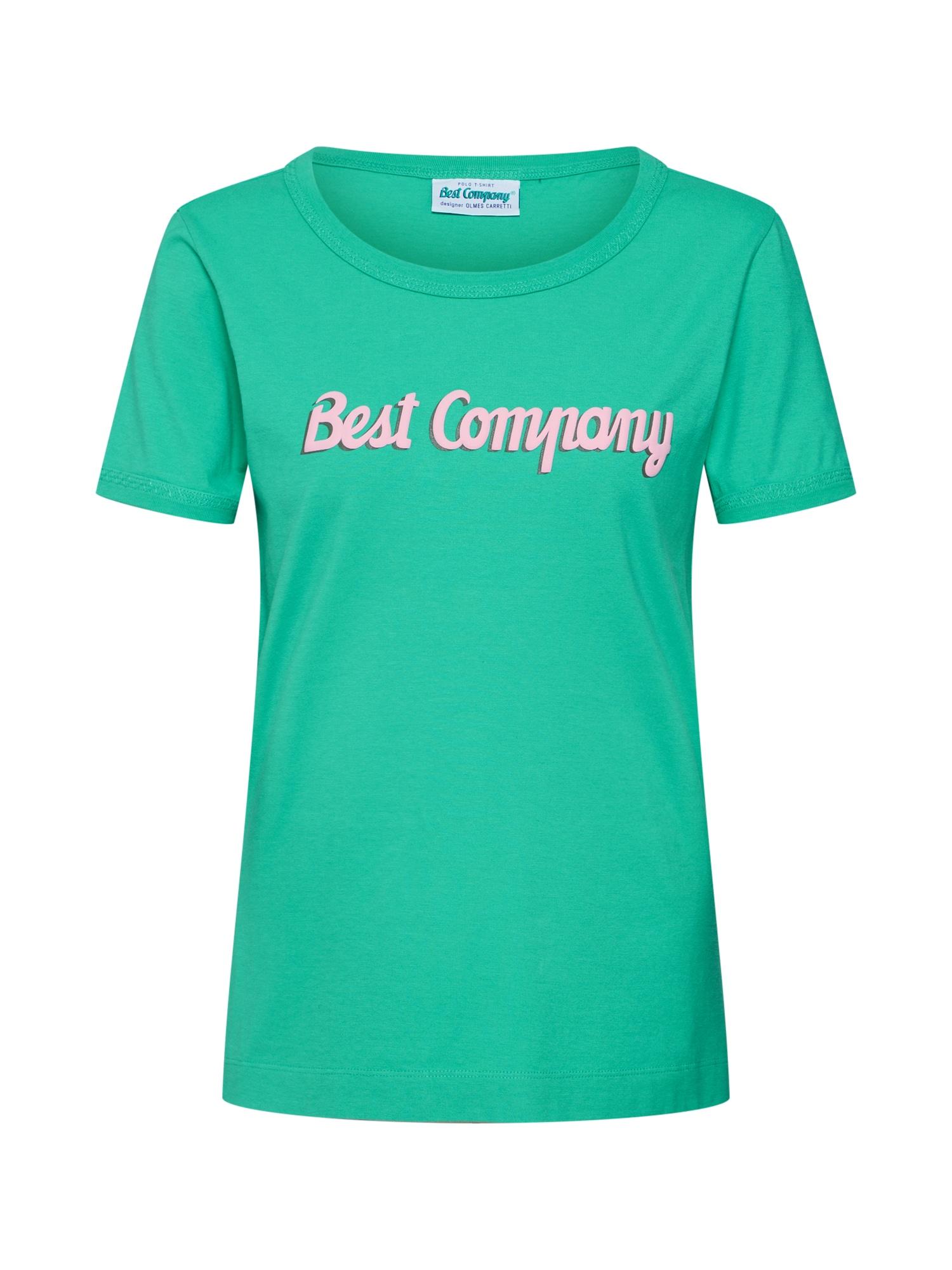 Tričko zelená Best Company
