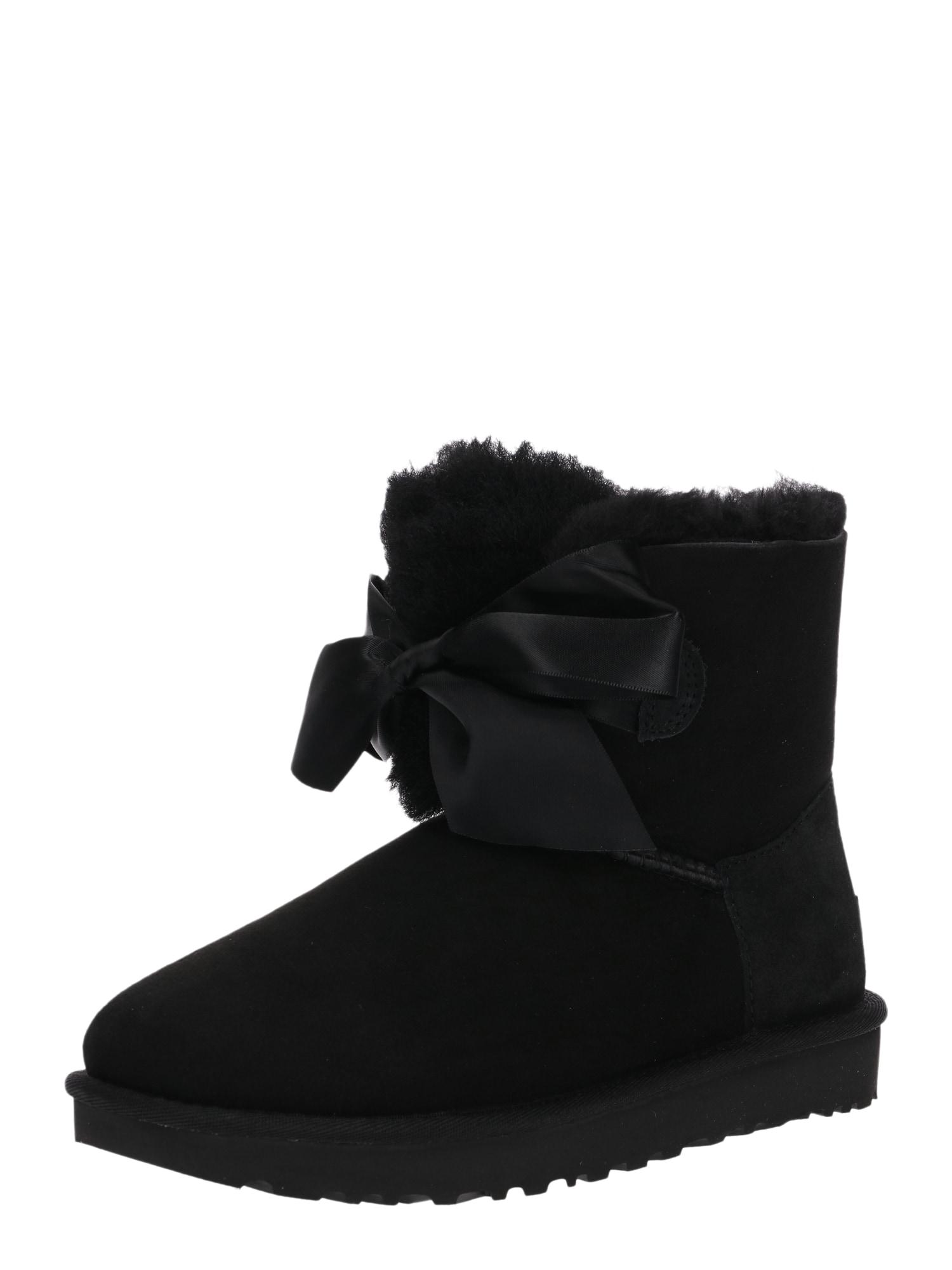 Sněhule Gita Bow Mini černá UGG