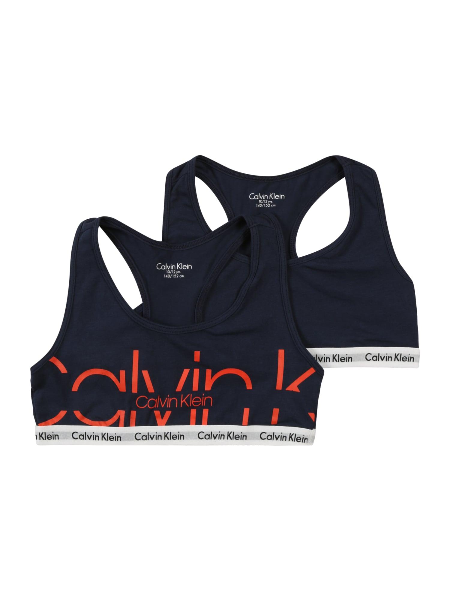 Calvin Klein Underwear Biustonosz  ciemny niebieski / czerwony