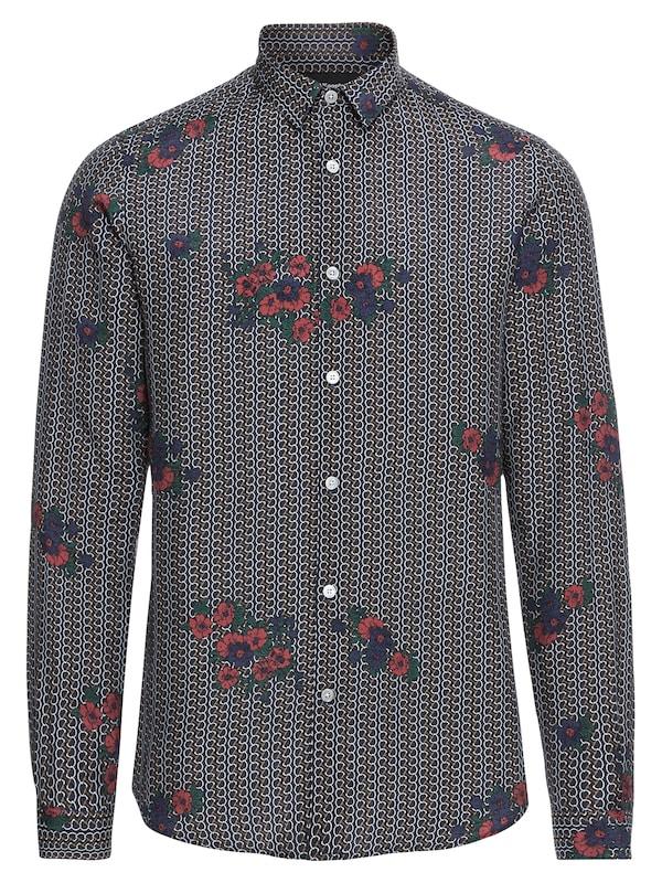 The Kooples Hemd ´PRINTED SHIRT WITH A CLASSIC COLLAR´ jetztbilligerkaufen