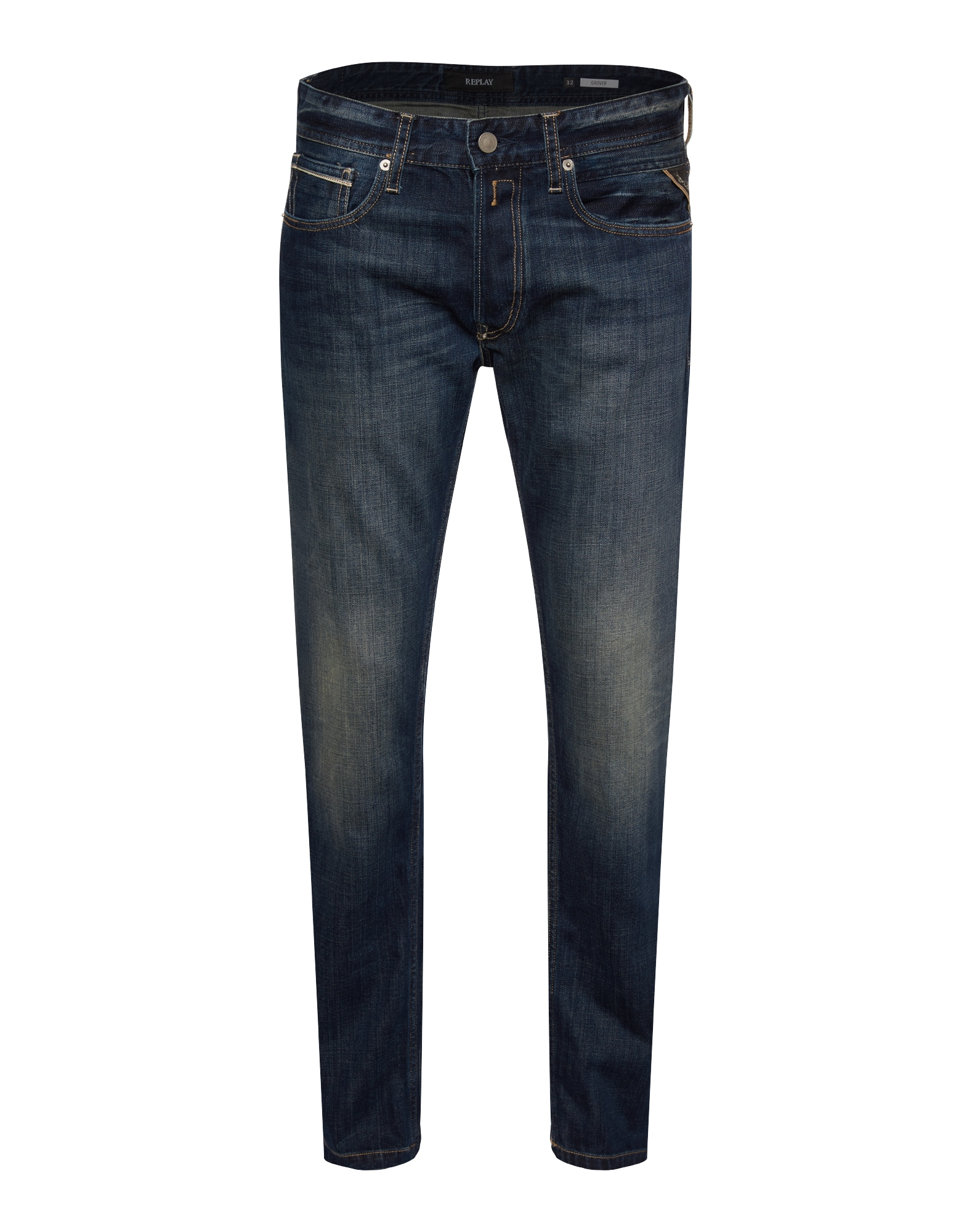 REPLAY Heren Jeans Grover blue denim