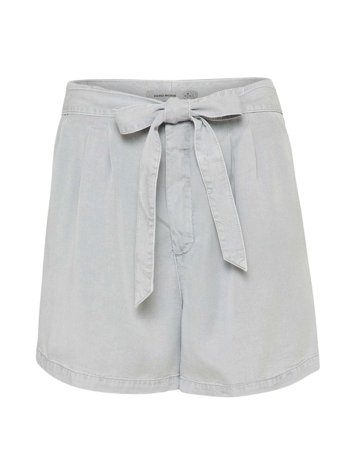 Kalhoty MIA šedá VERO MODA