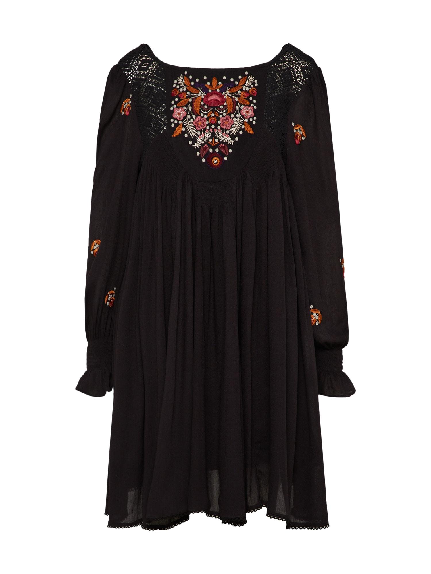 Letní šaty Mohave Mini černá Free People
