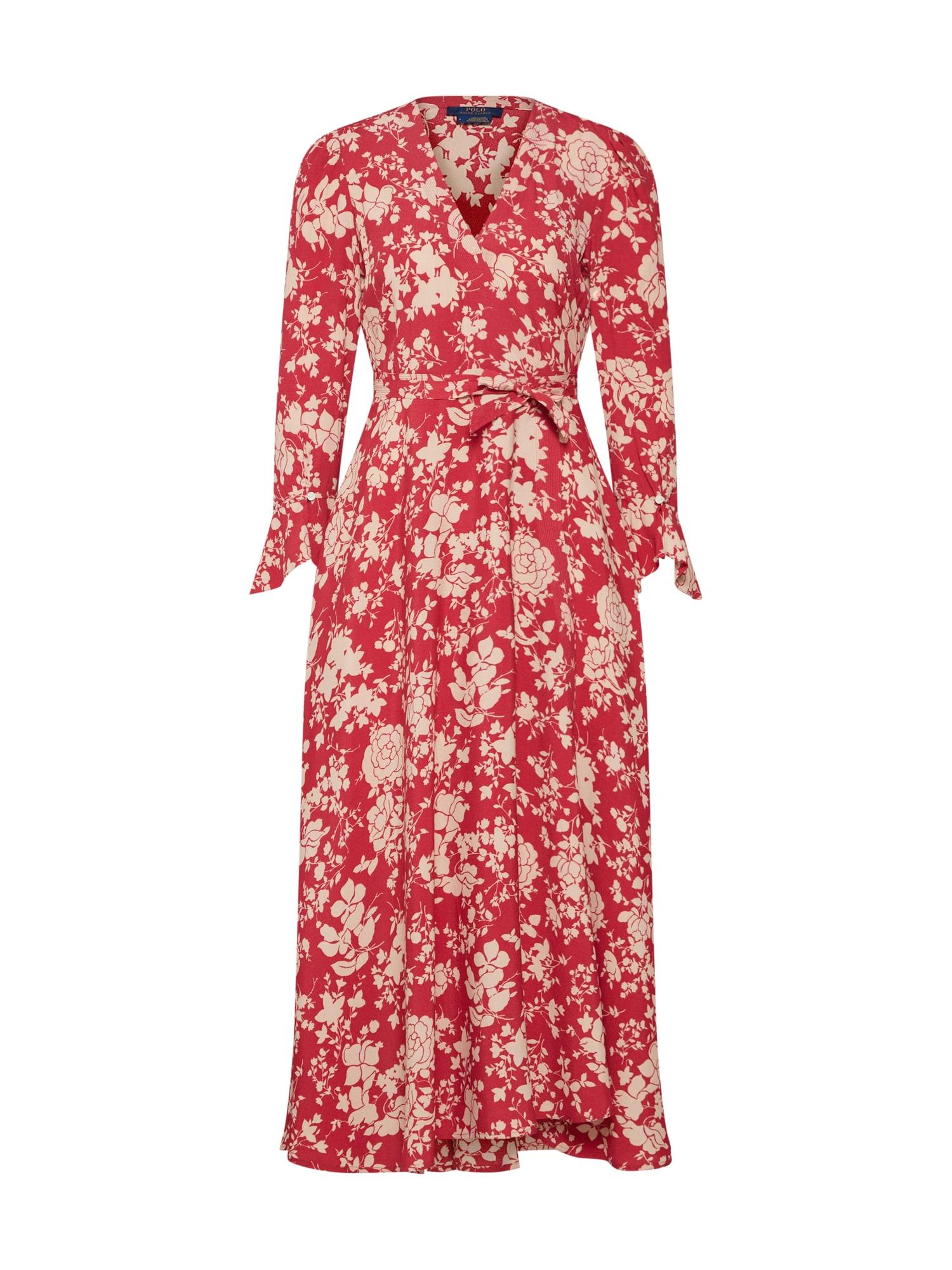 Letní šaty červená POLO RALPH LAUREN