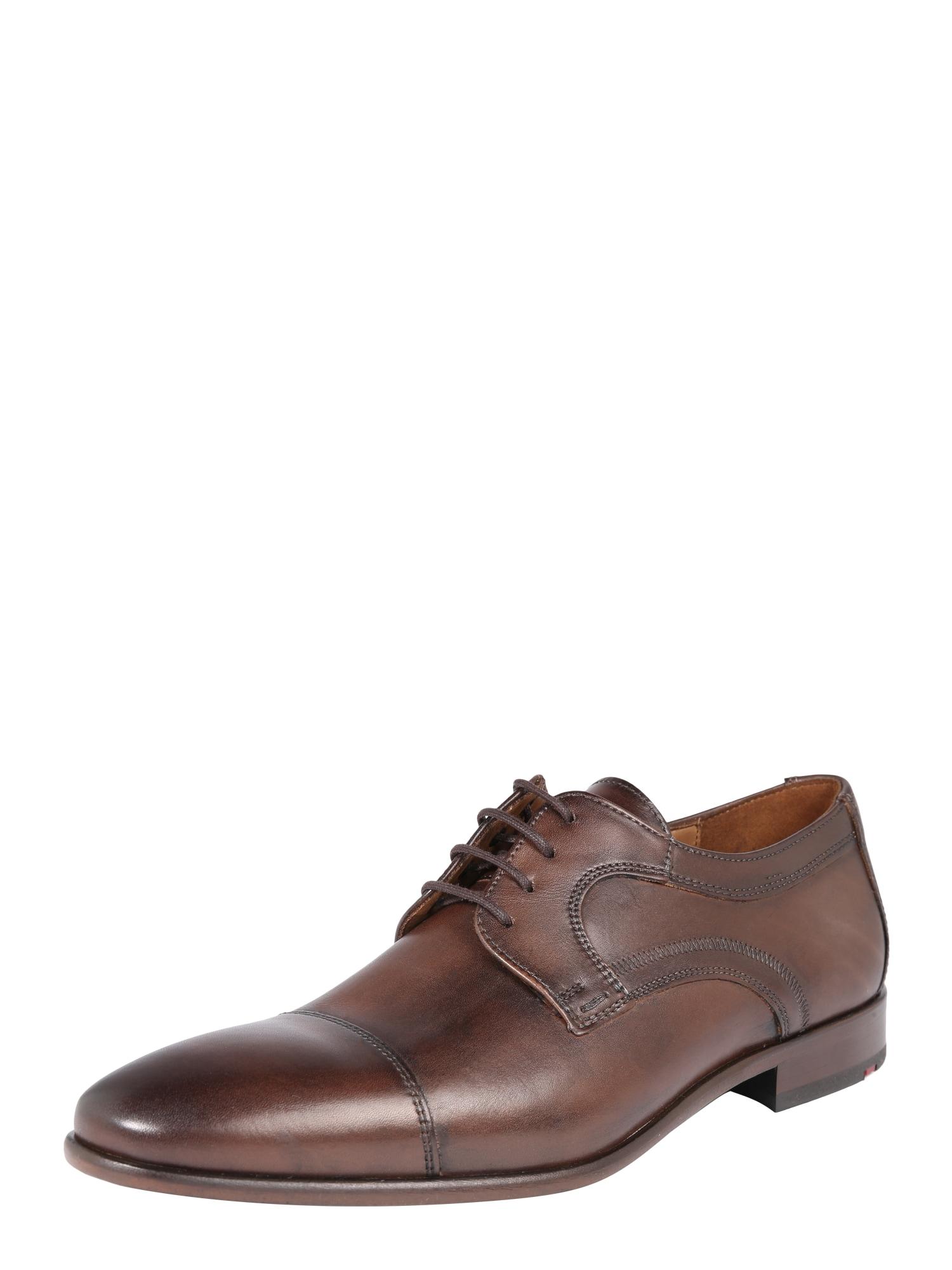 Sportovní šněrovací boty MARAN tmavě hnědá LLOYD