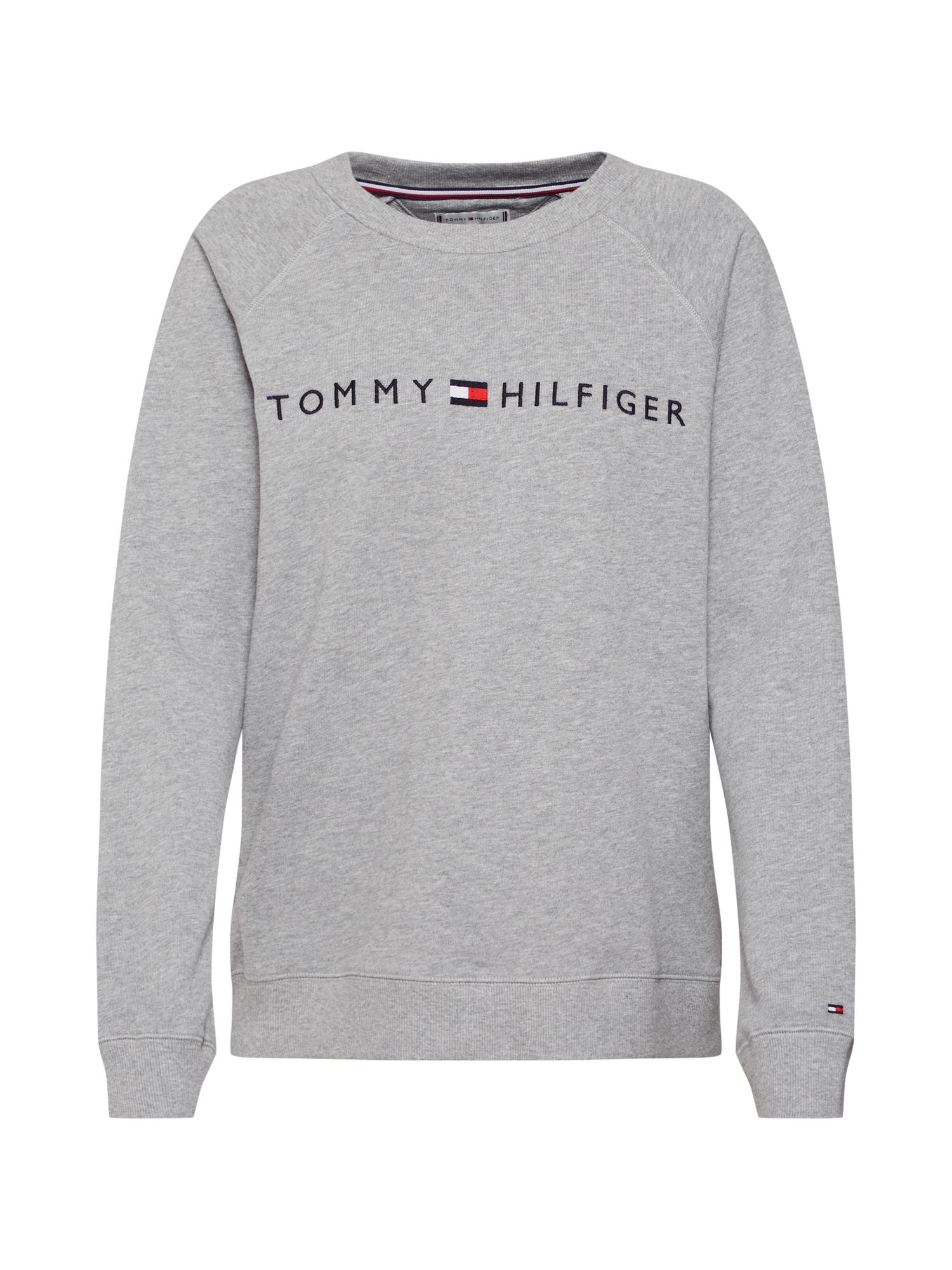 Tričko na spaní šedá Tommy Hilfiger Underwear