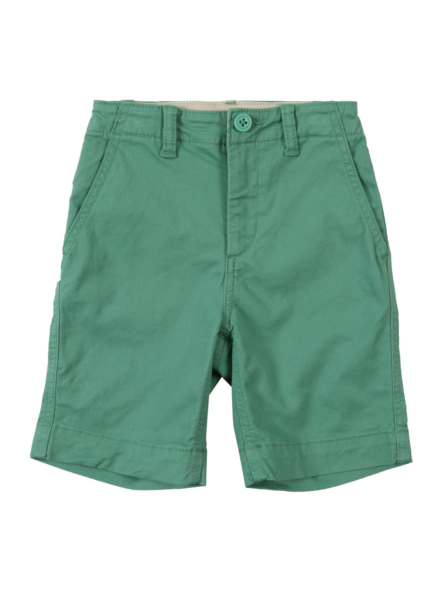 Kalhoty FLAT FRONT SH zelená GAP