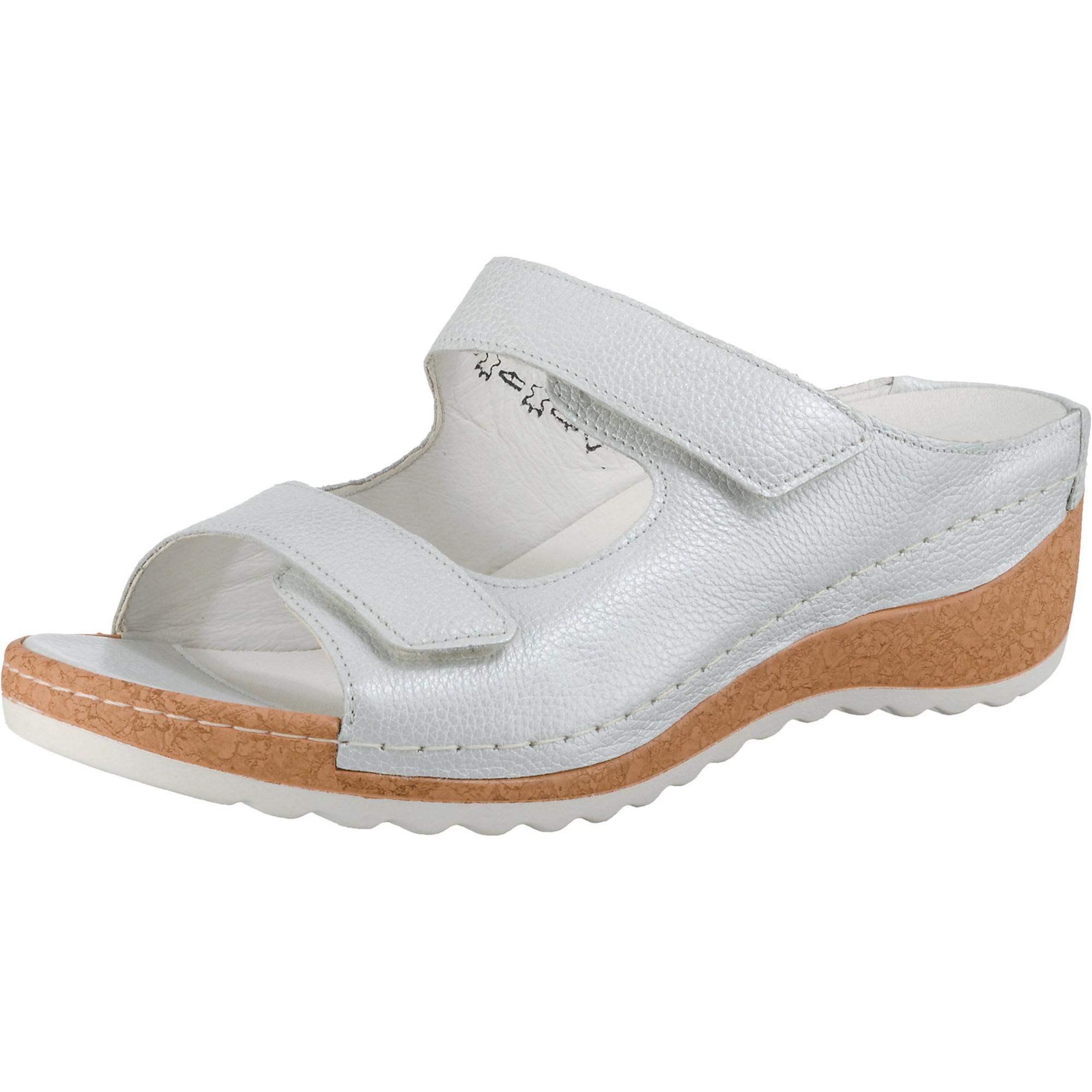 Pantoletten 'Hanila' | Schuhe > Clogs & Pantoletten | Weiß | WALDLÄUFER