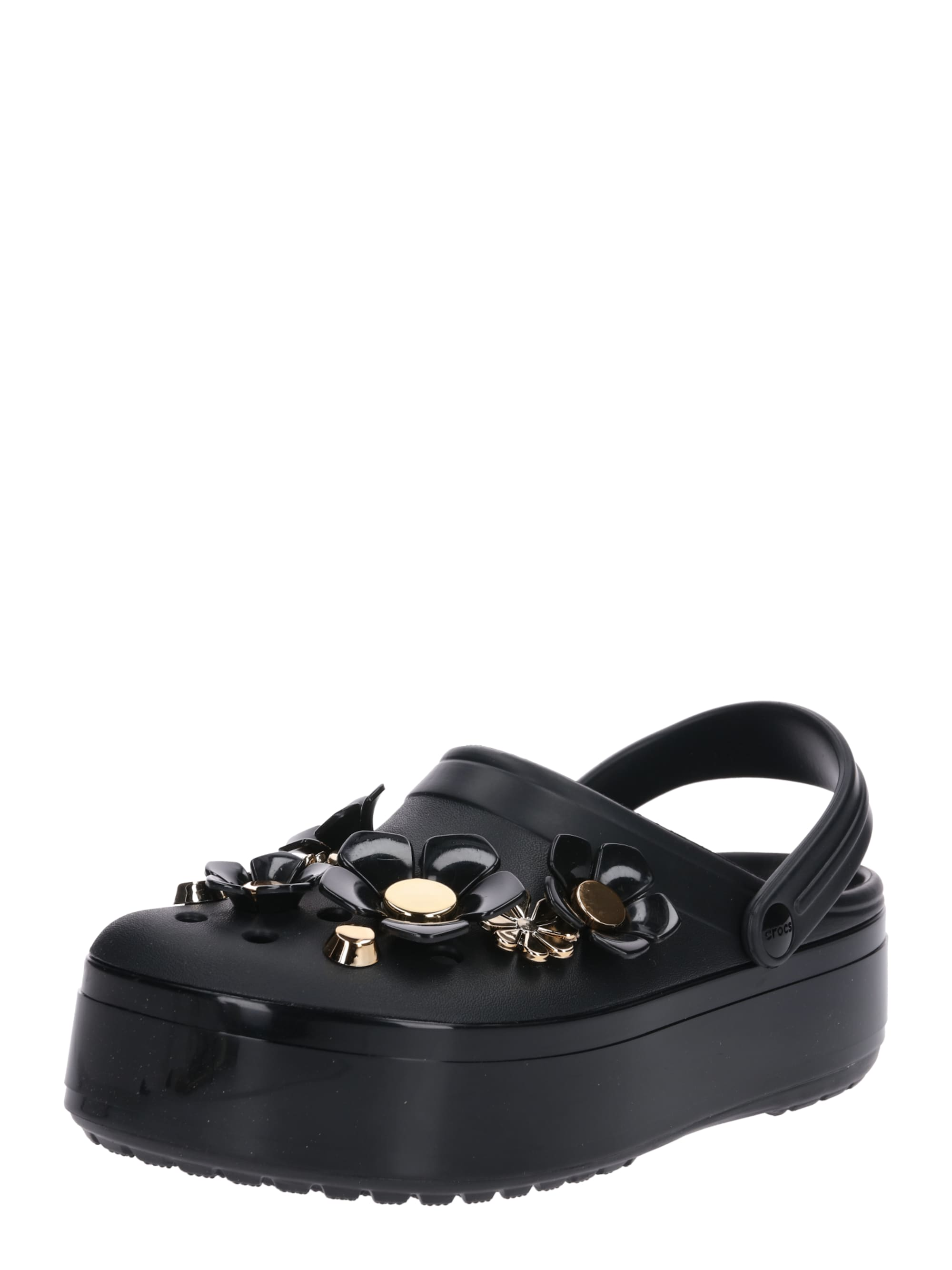 crocs - Slipper ´Crocband Platform Metallic Blooms´