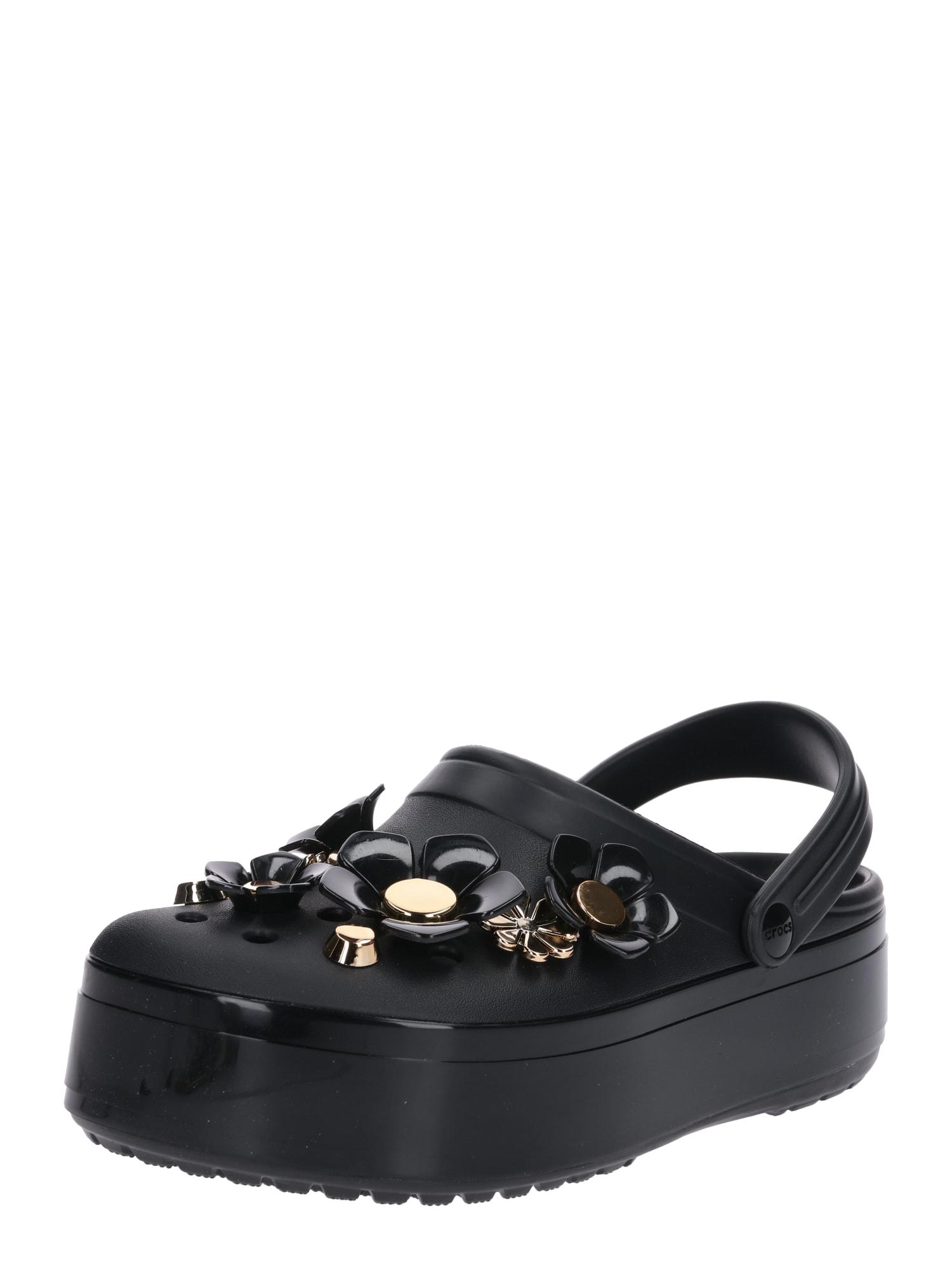 crocs - Slipper ´Crocband Platform Metallic Blooms´