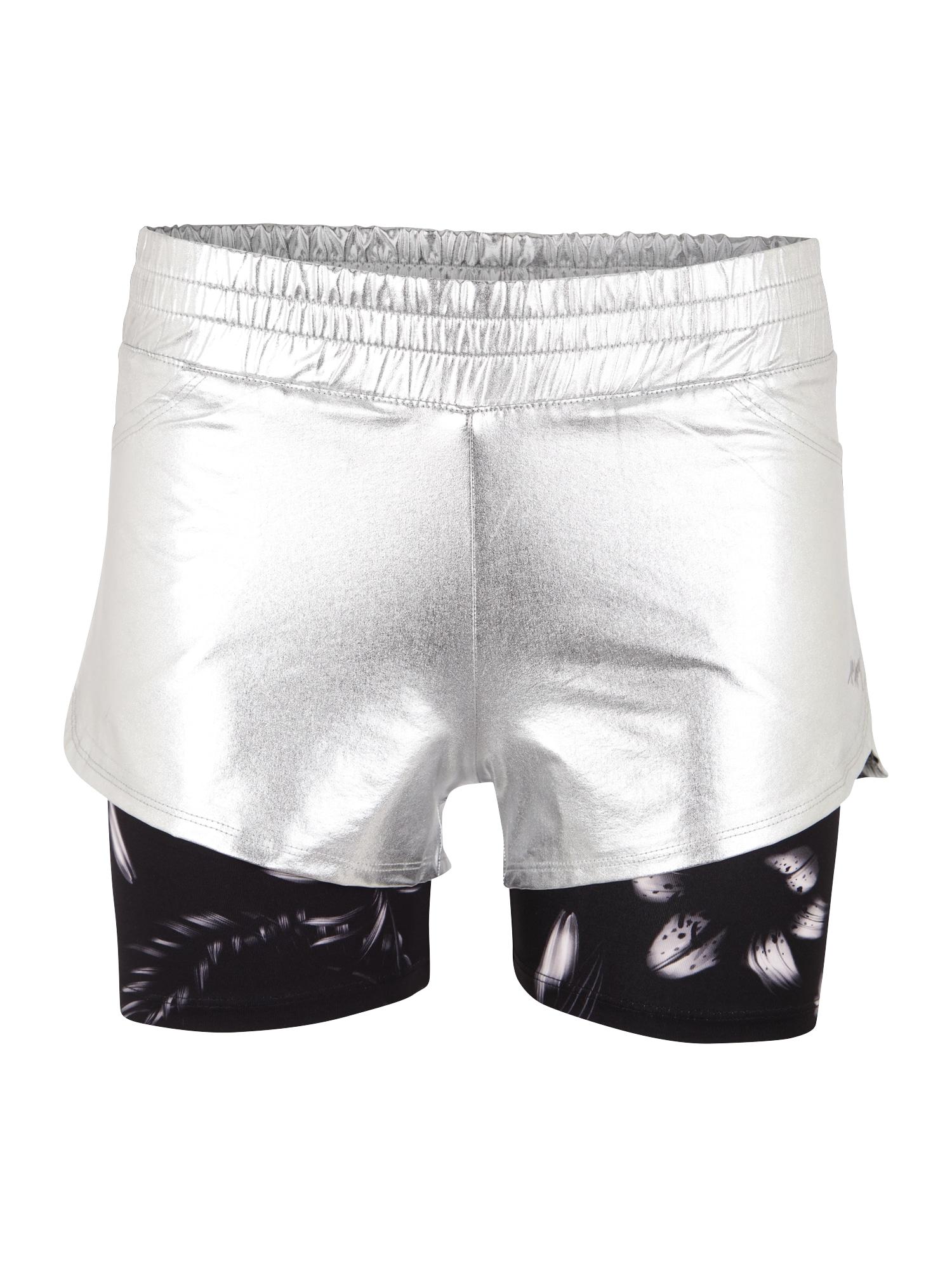 Sportovní kalhoty stříbrná Hey Honey