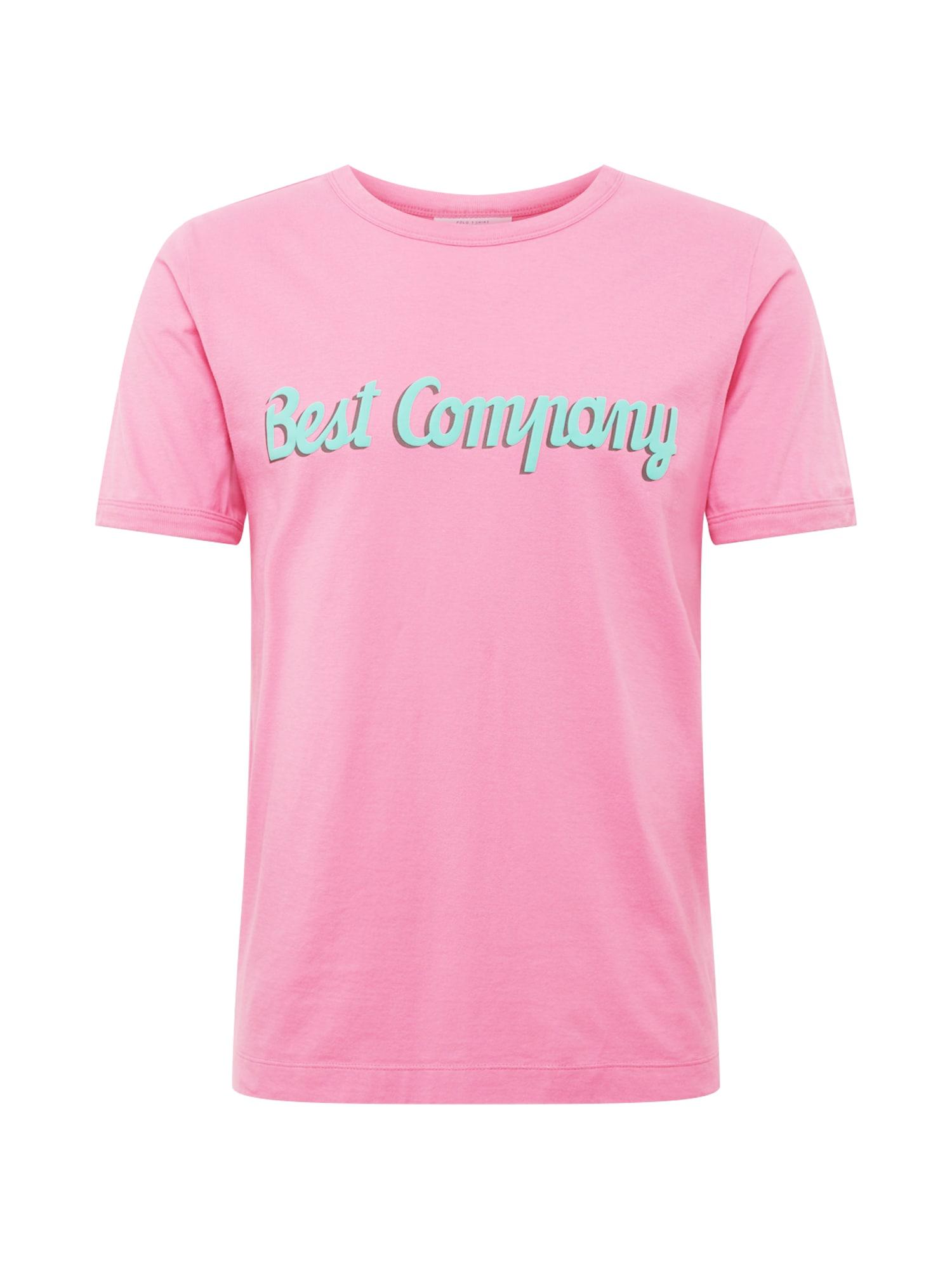 Tričko pink Best Company