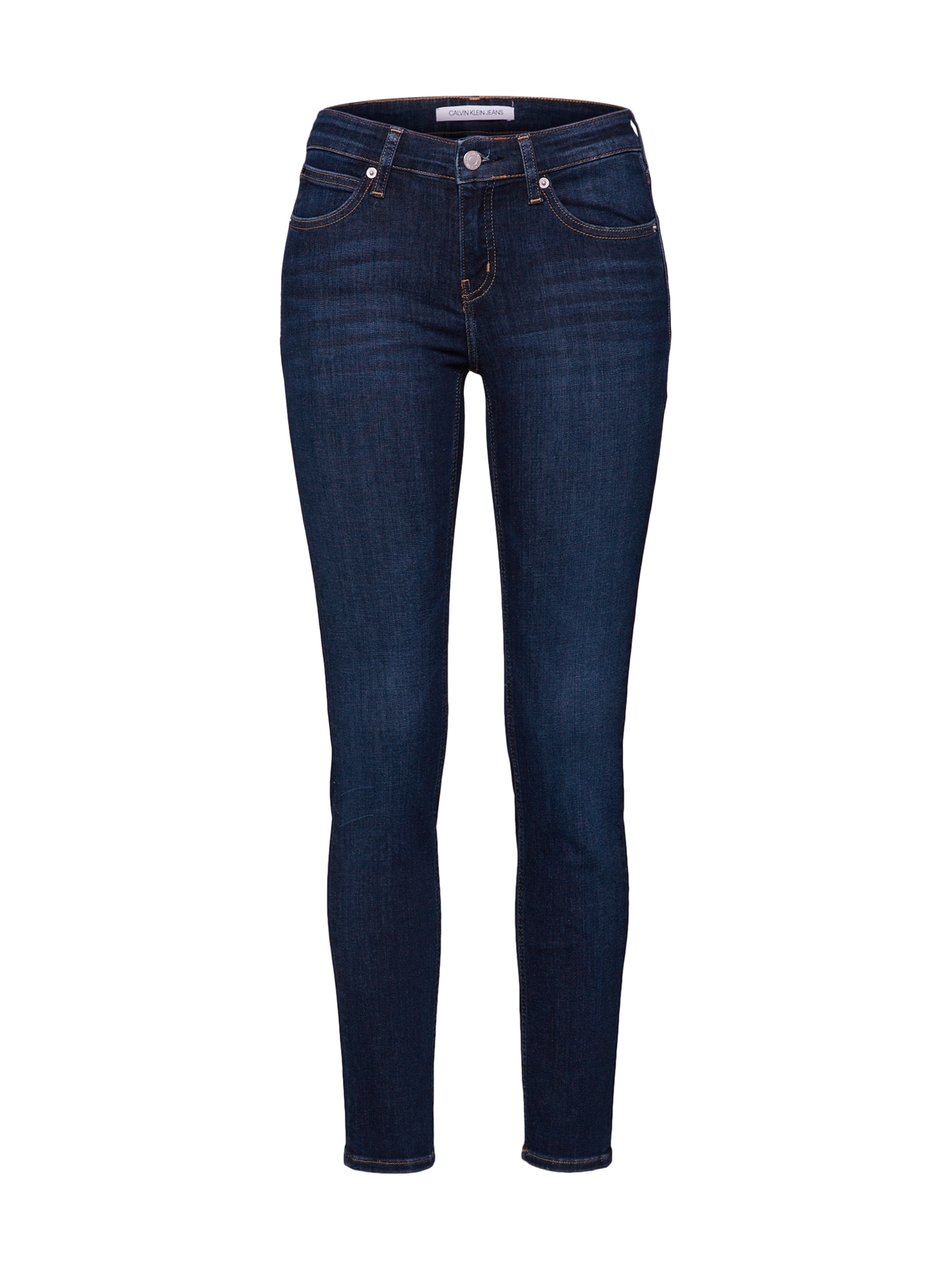 Džíny CKJ 022 BODY námořnická modř Calvin Klein Jeans