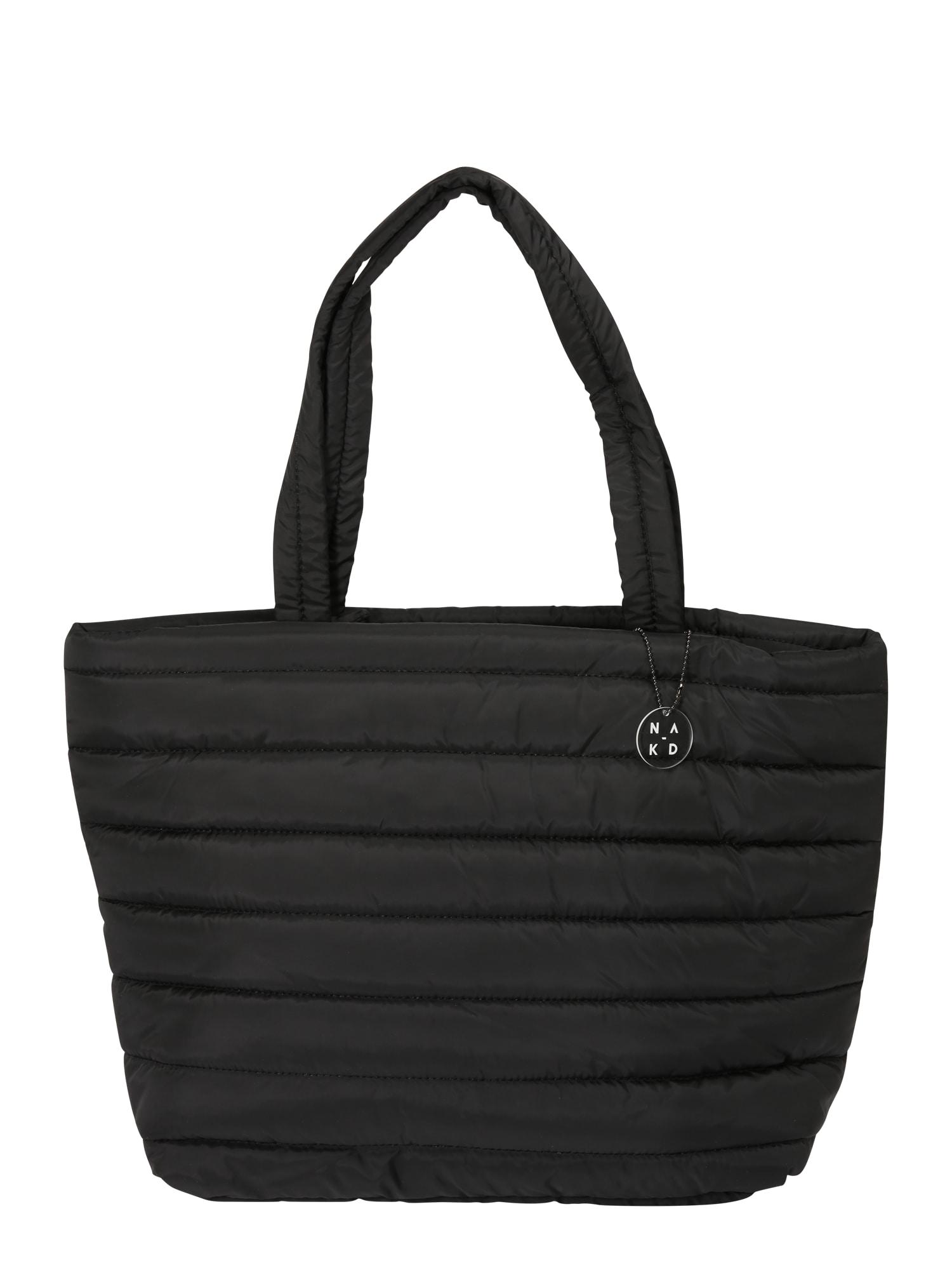 Nákupní taška černá NA-KD