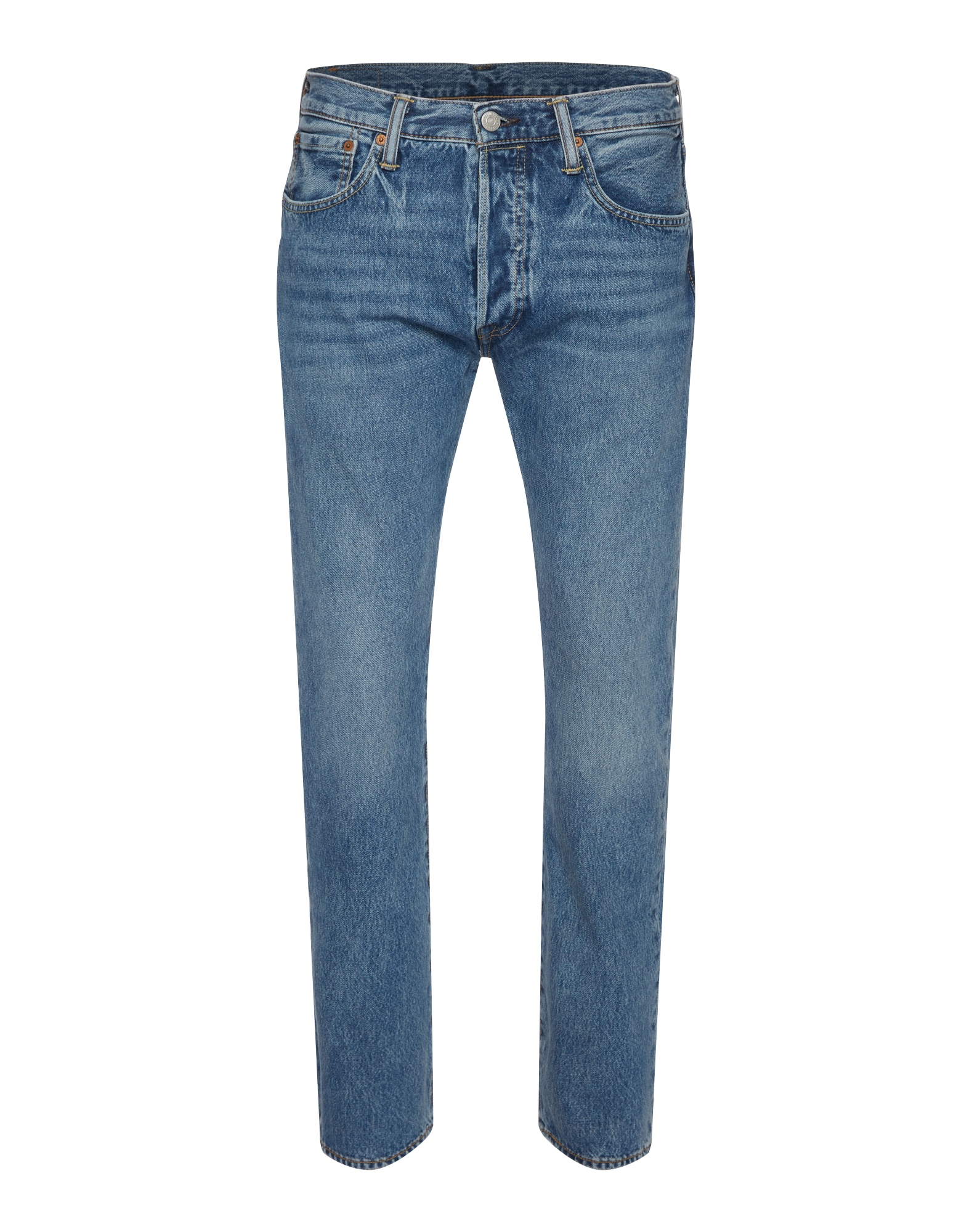 LEVI'S Heren Jeans 501 ORIGINAL FIT blue denim