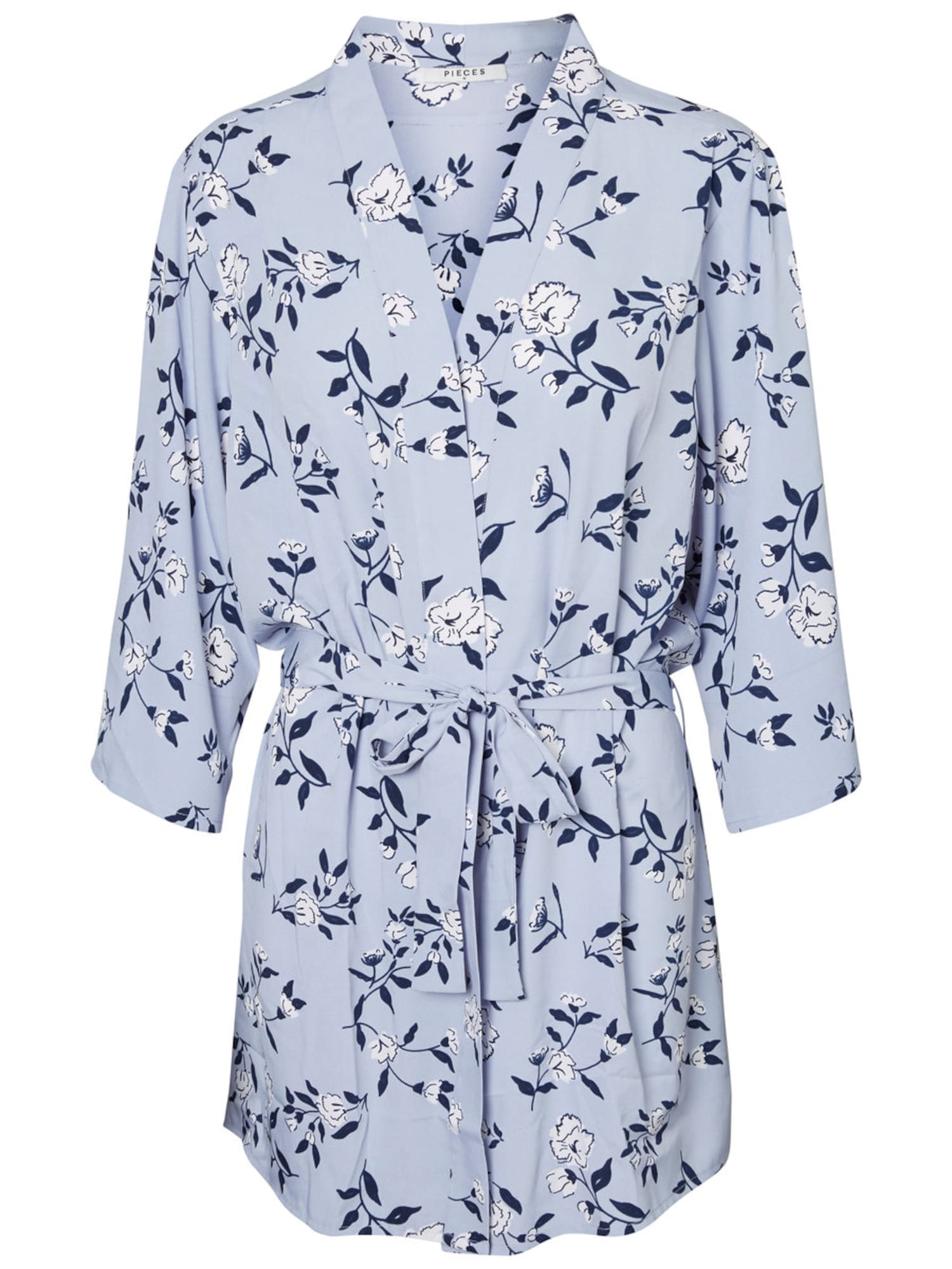 PIECES, Dames Kimono, blauw
