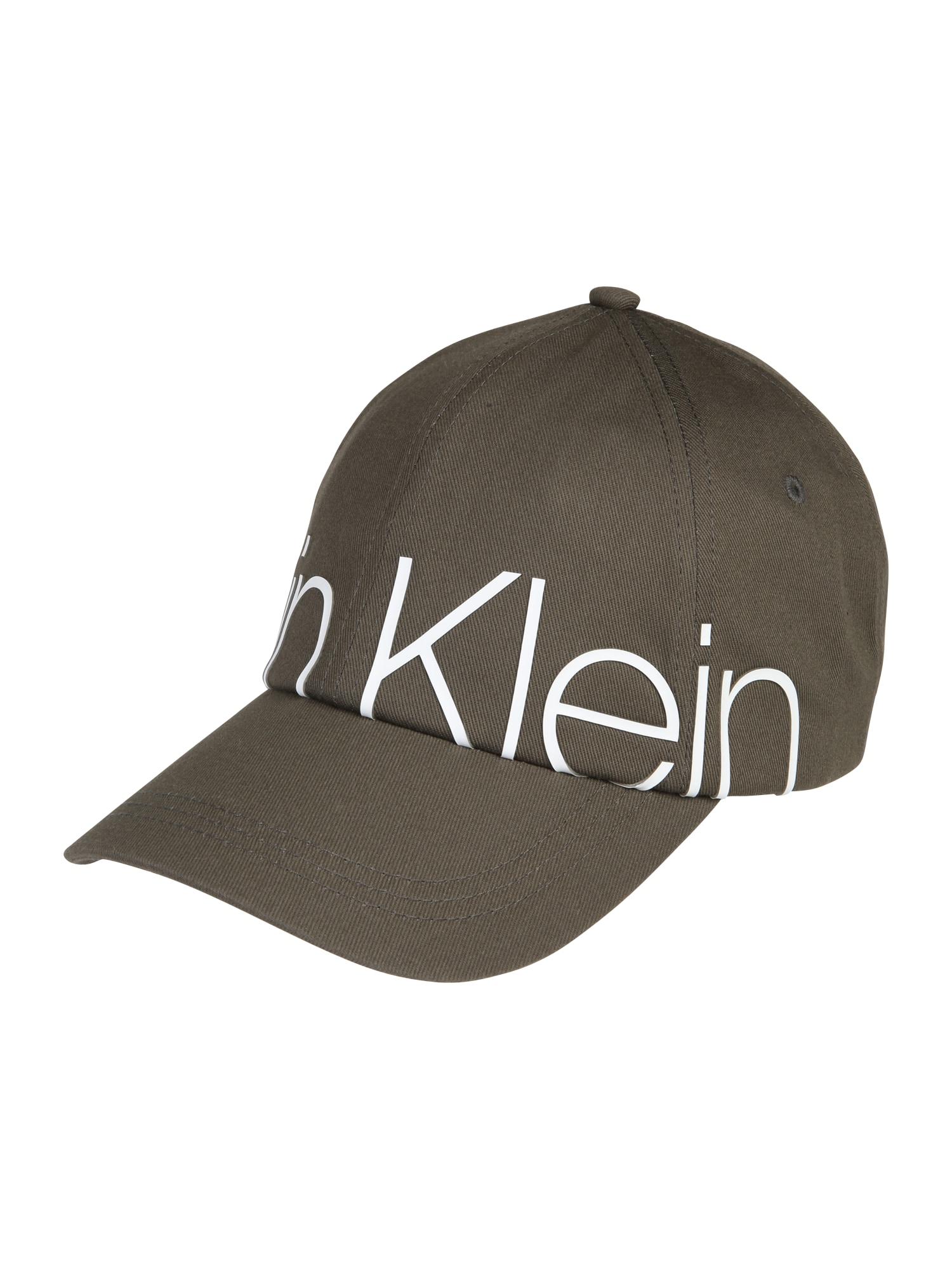 Kšiltovka TRAIL BIG LOGO CAP zelená Calvin Klein