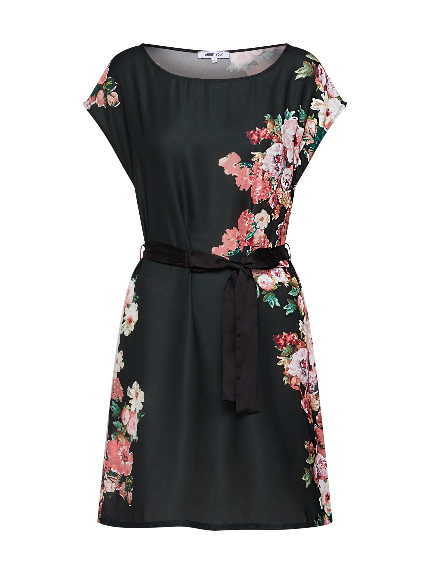 ABOUT YOU Jurk 'Cinzia' gemengde kleuren / zwart