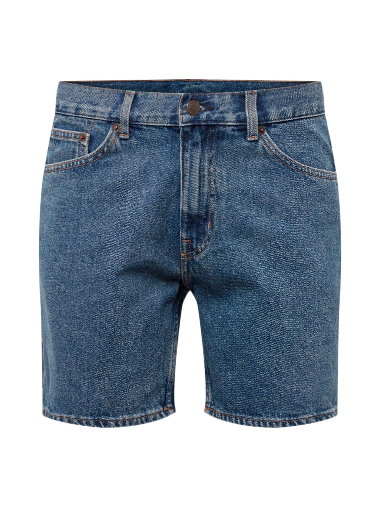 Džíny Sonic Shorts modrá džínovina CHEAP MONDAY