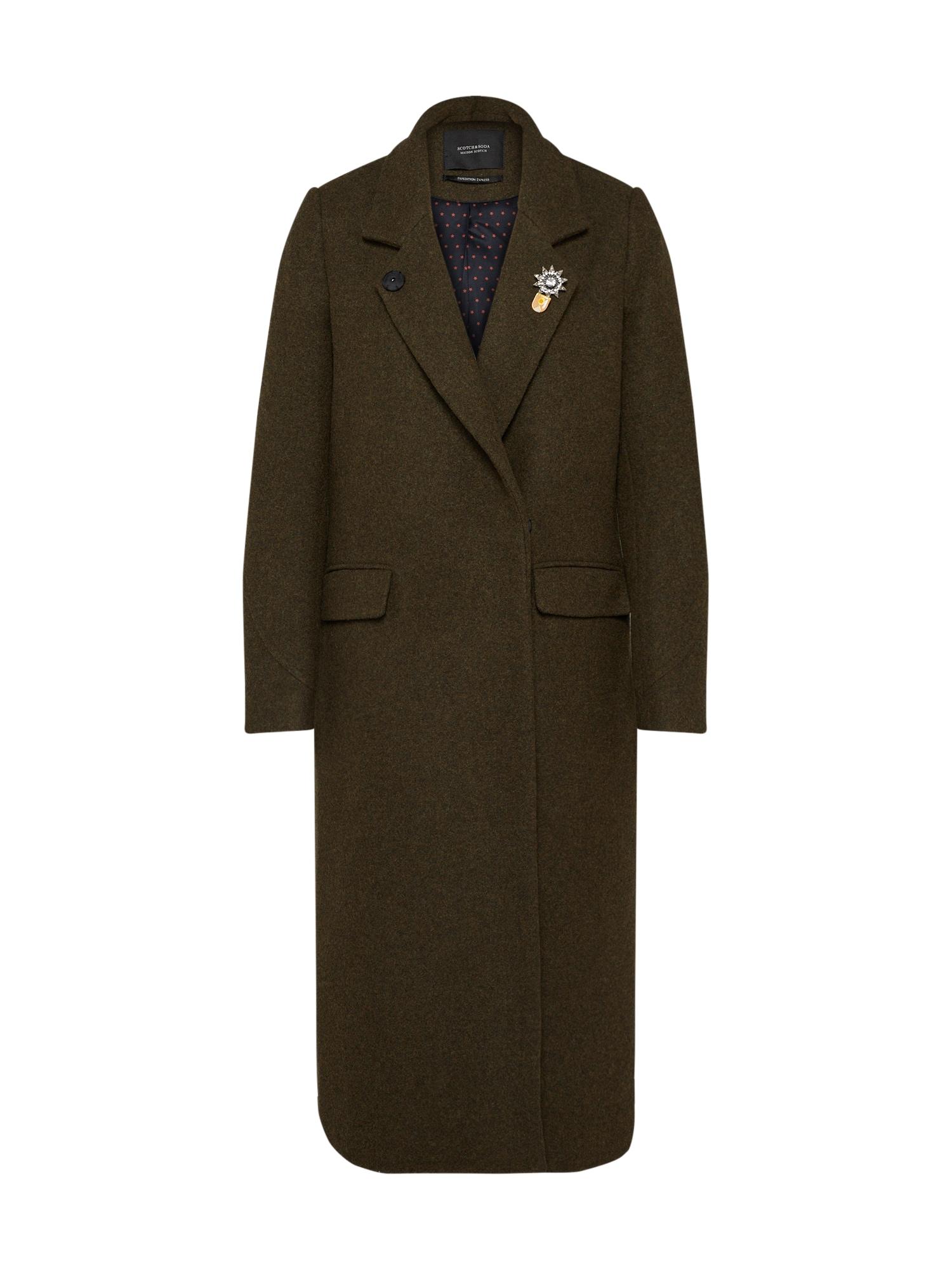 SCOTCH & SODA Přechodný kabát  khaki
