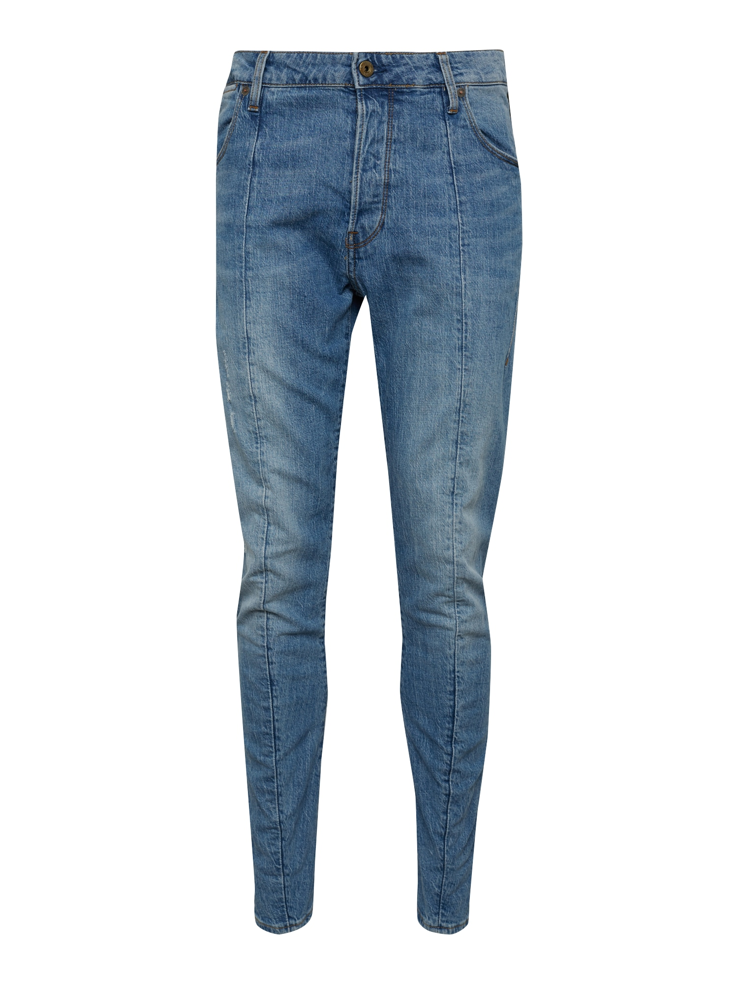 G-STAR RAW Heren Jeans Lanc 3D Straight Tapered blauw denim