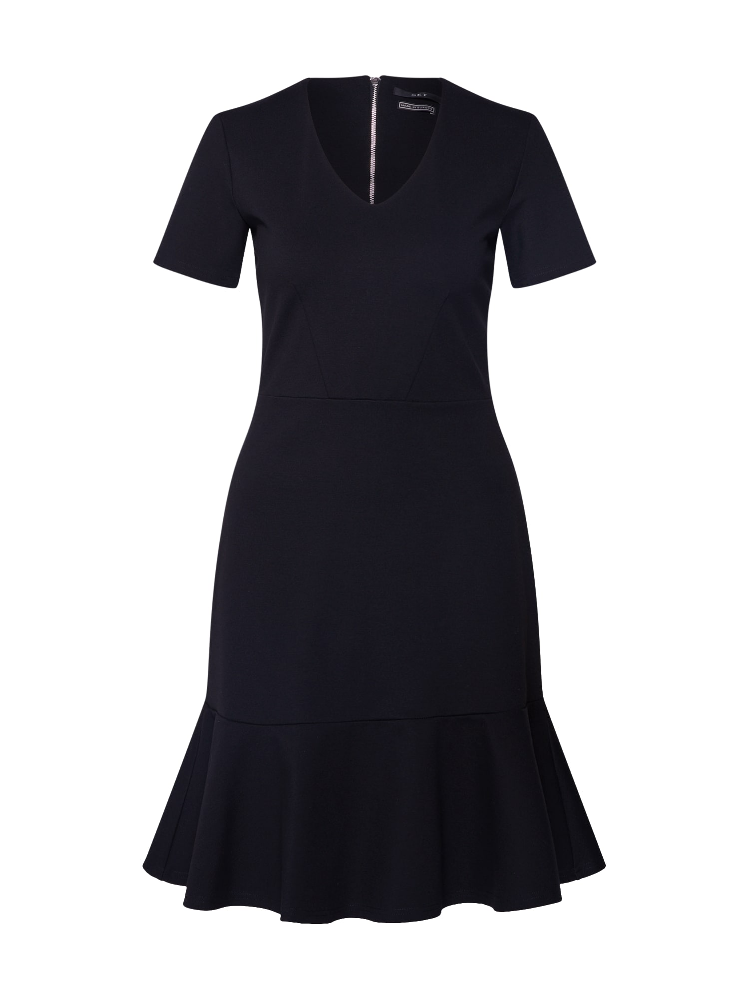 SET Sukienka koktajlowa  czarny