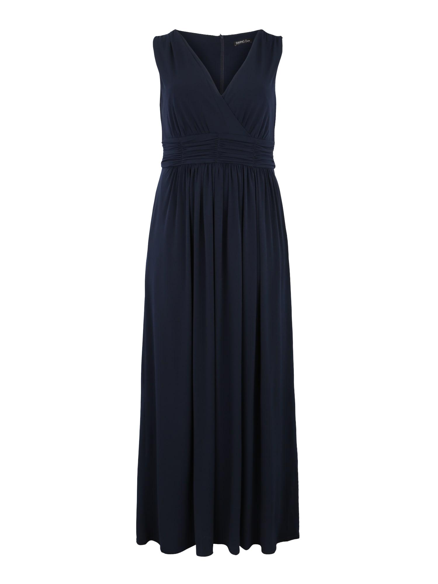 Šaty KLEID námořnická modř SWING Curve