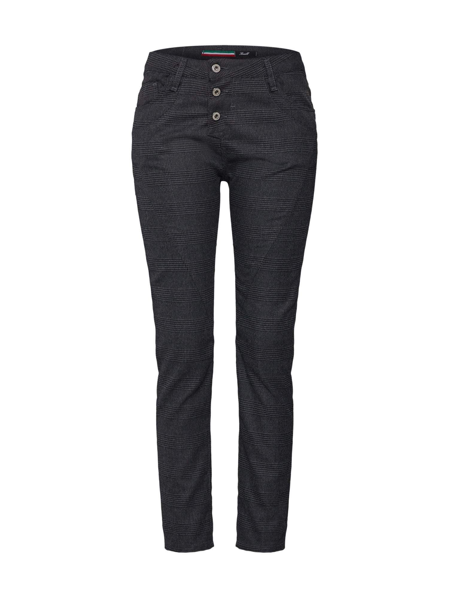 Kalhoty šedá džínová PLEASE