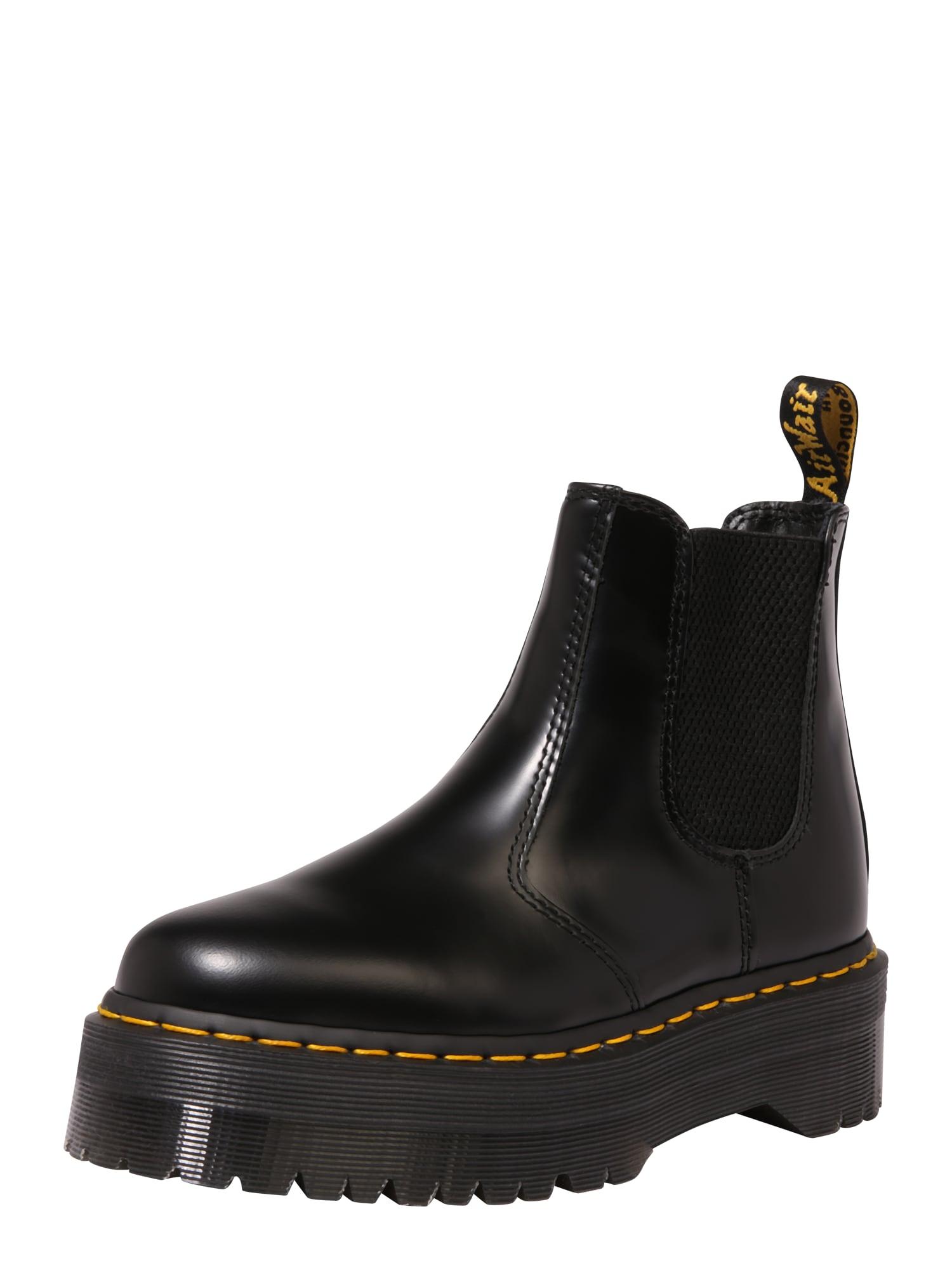 Chelsea boty 2976 černá Dr. Martens