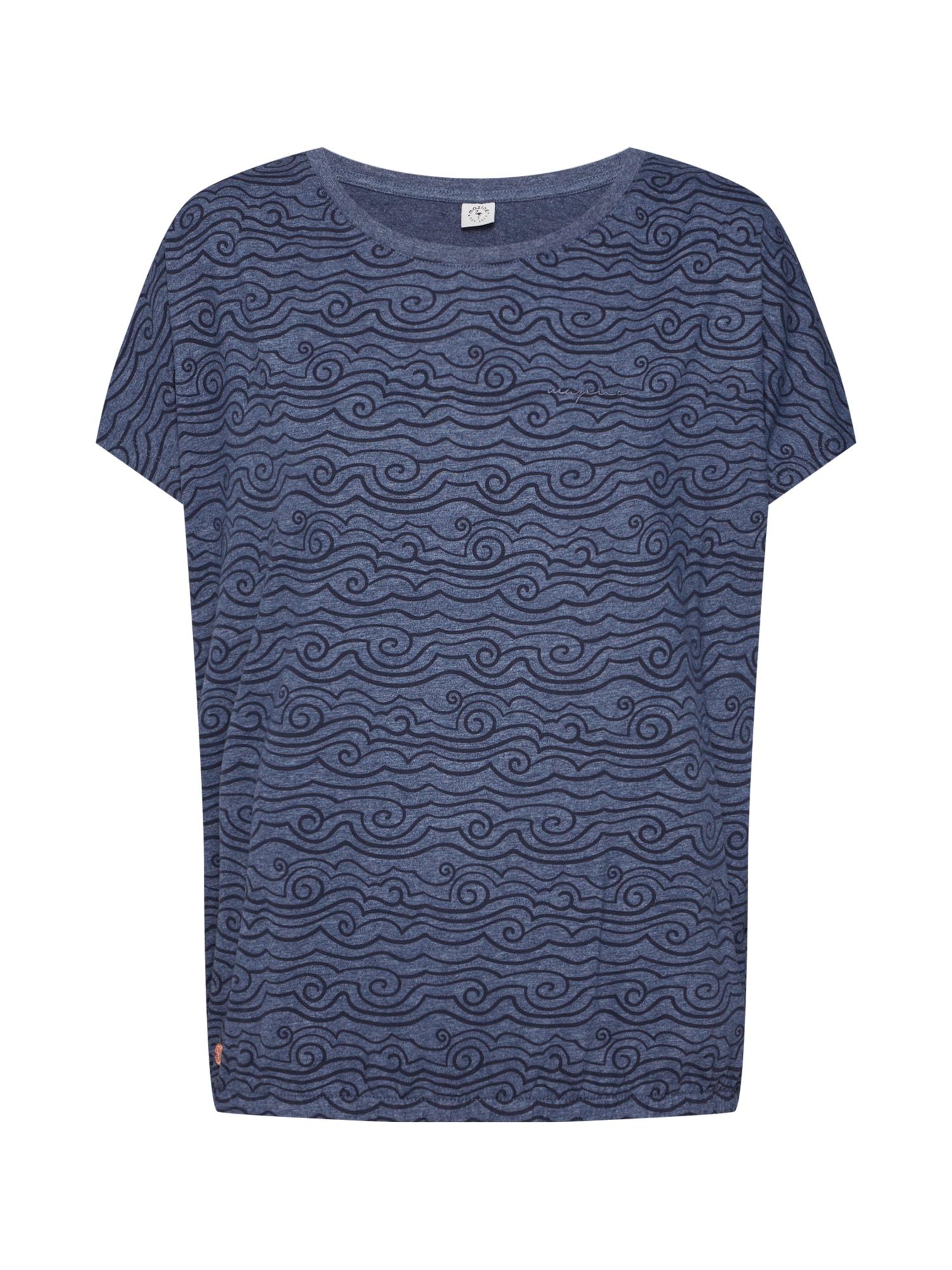 Tričko Celina T námořnická modř Mazine