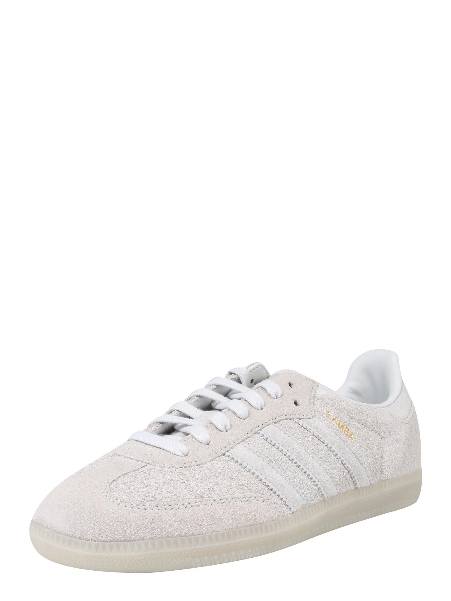 ADIDAS ORIGINALS, Heren Sneakers laag 'SAMBA', natuurwit
