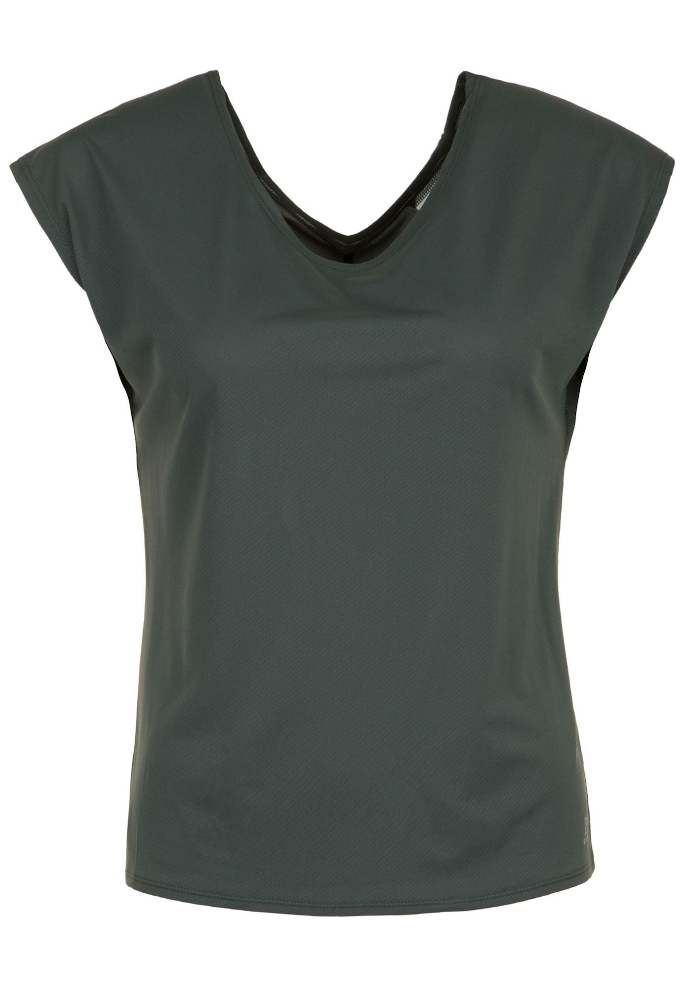 Trainingsshirt 'Comet Flow' | Sportbekleidung > Sportshirts > Funktionsshirts | Dunkelgrau | SALOMON