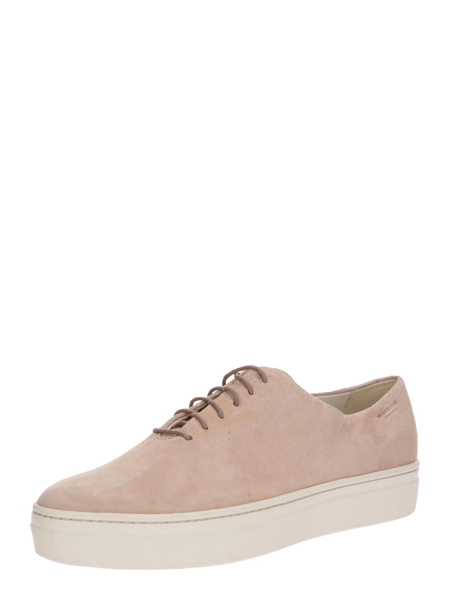 Šněrovací boty Camille béžová bílá VAGABOND SHOEMAKERS