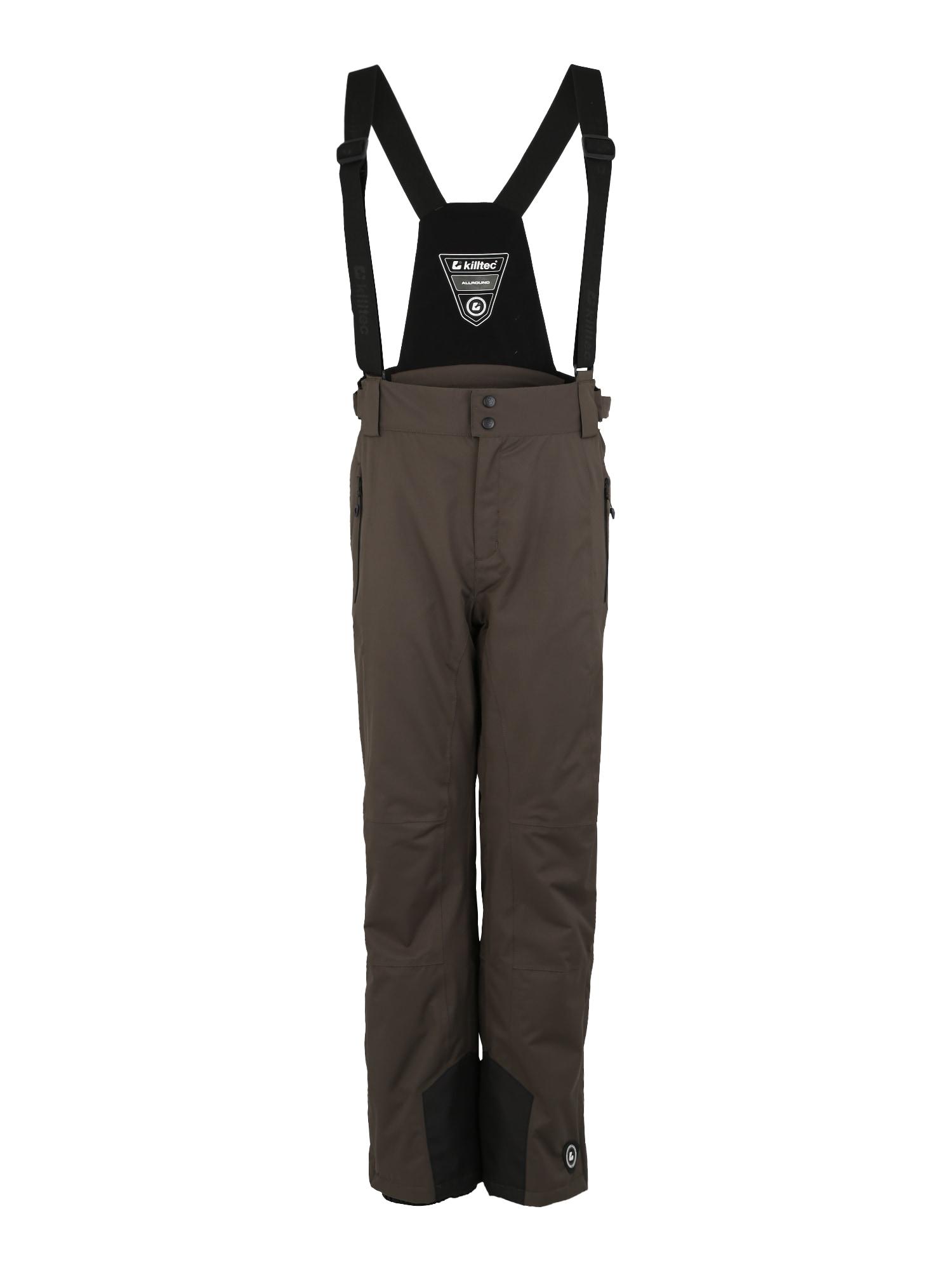 Outdoorové kalhoty Enosh olivová KILLTEC
