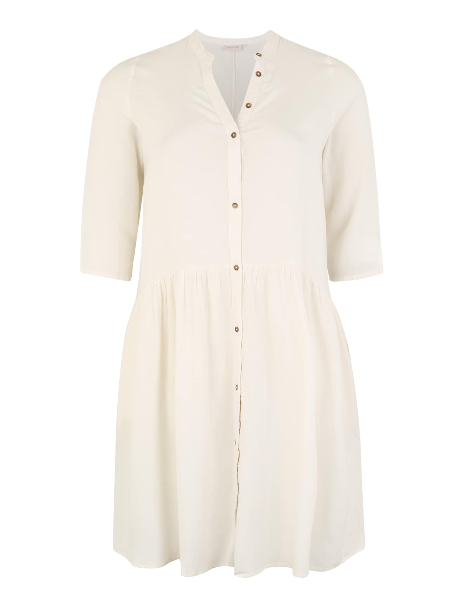 Košilové šaty MIRA offwhite ONLY Carmakoma