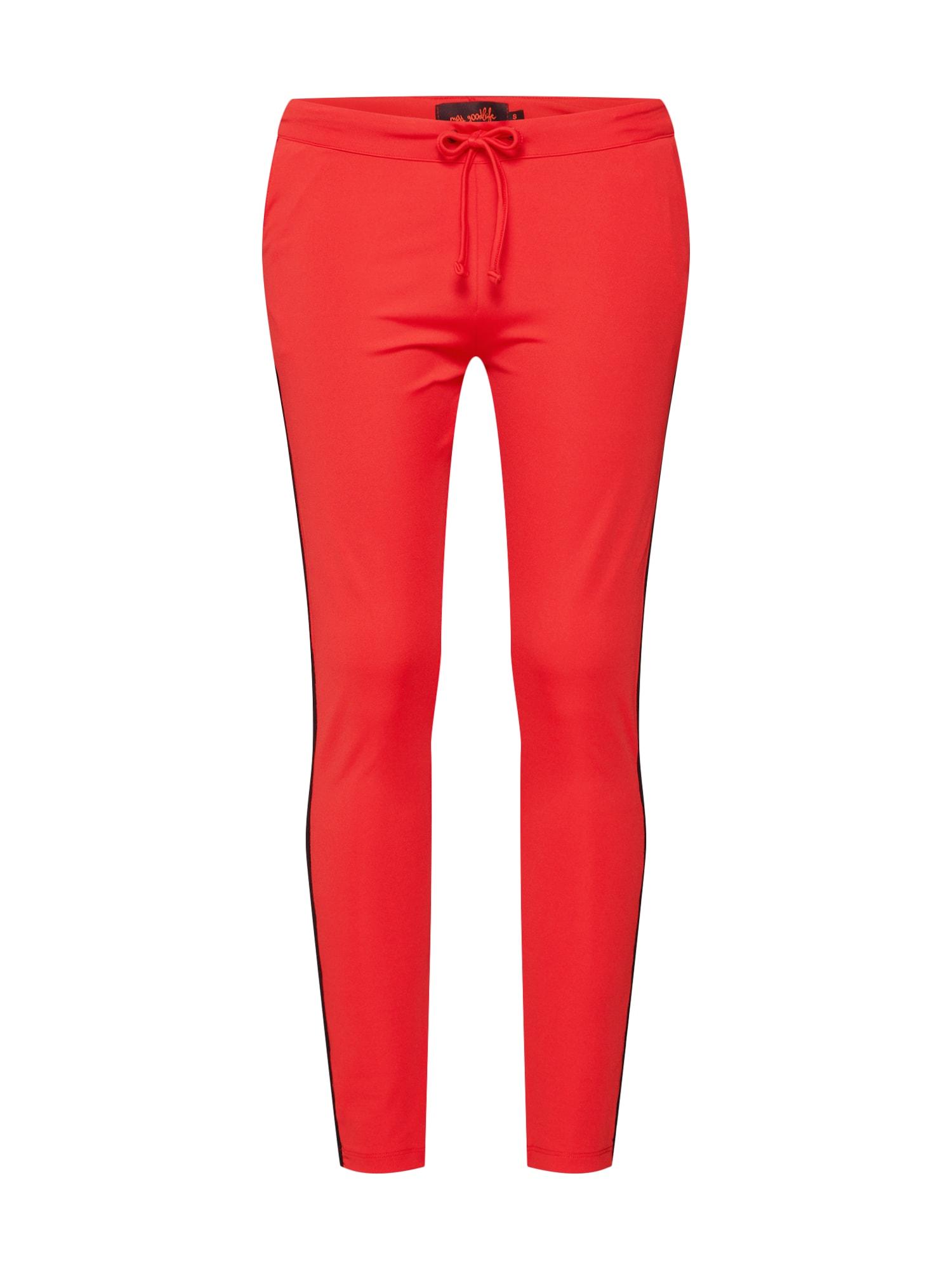 Kalhoty oranžově červená Miss Goodlife