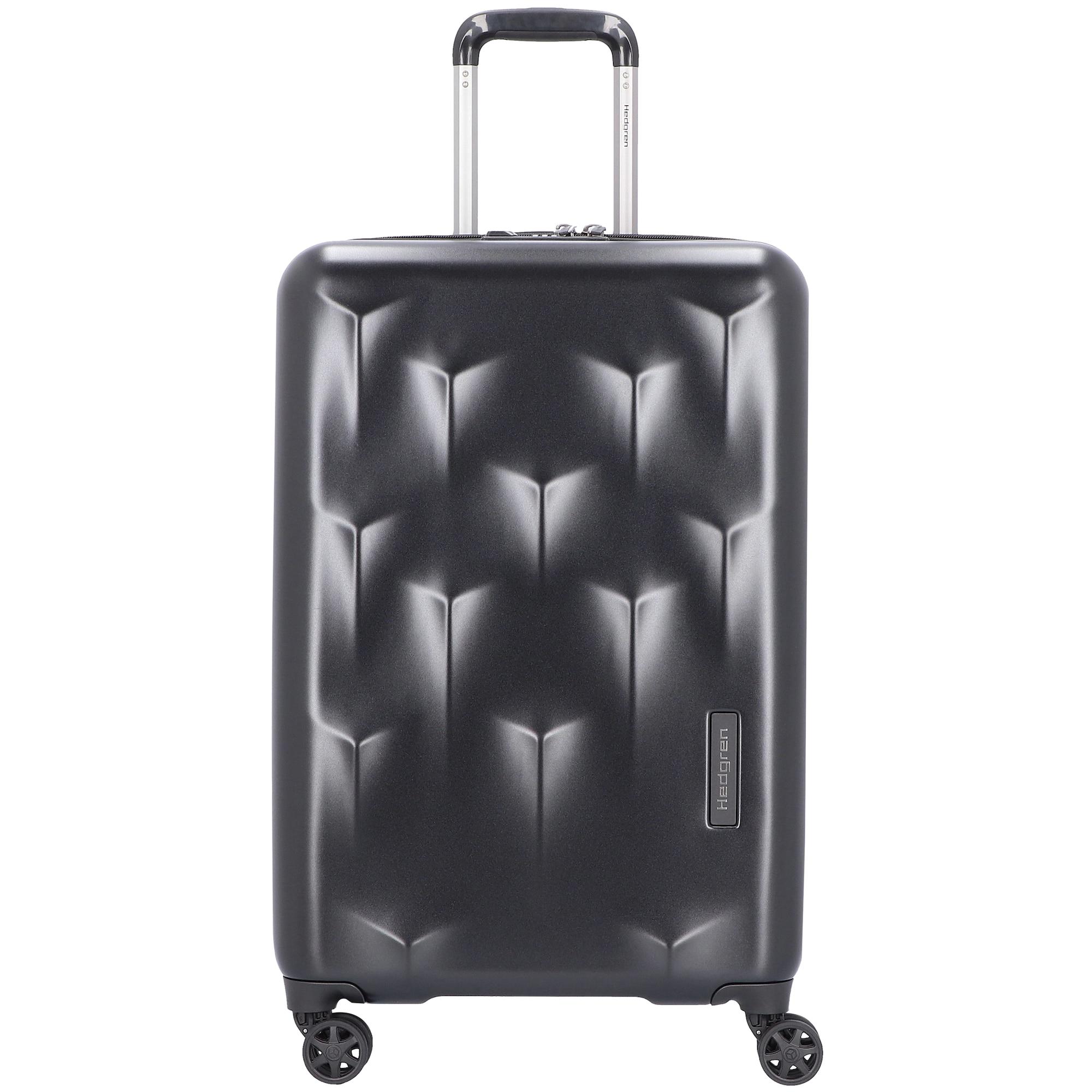 Trolley 'Edge Carve' 66 cm | Taschen > Koffer & Trolleys > Trolleys | Schwarz | Hedgren