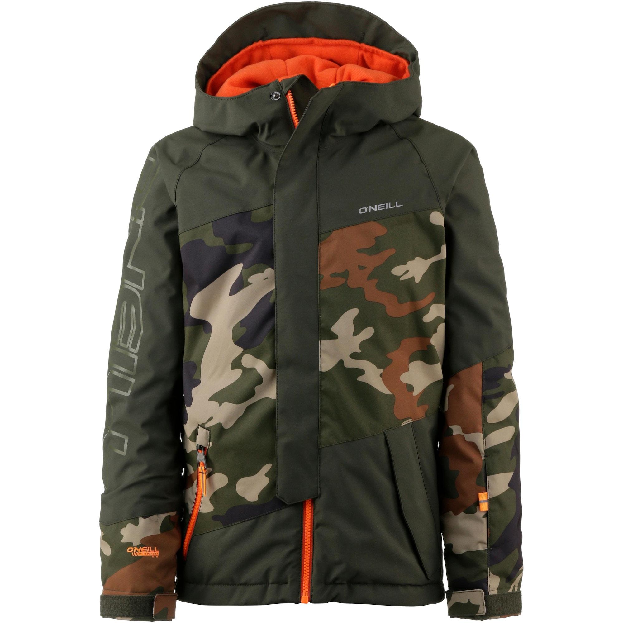 ONEILL Outdoorová bunda béžová tmavě modrá hnědá tmavě zelená tmavě oranžová O'NEILL