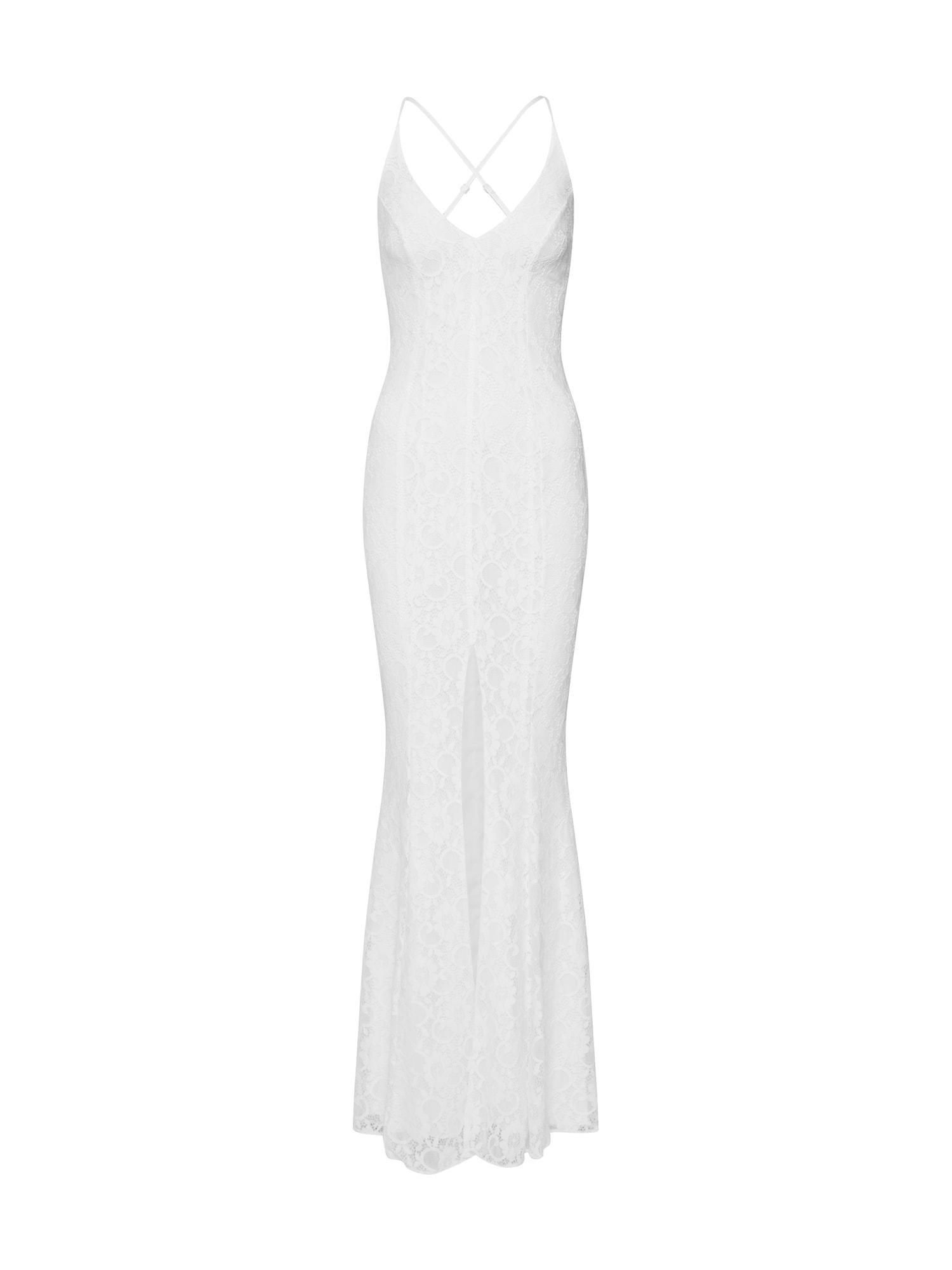 Společenské šaty bílá Missguided