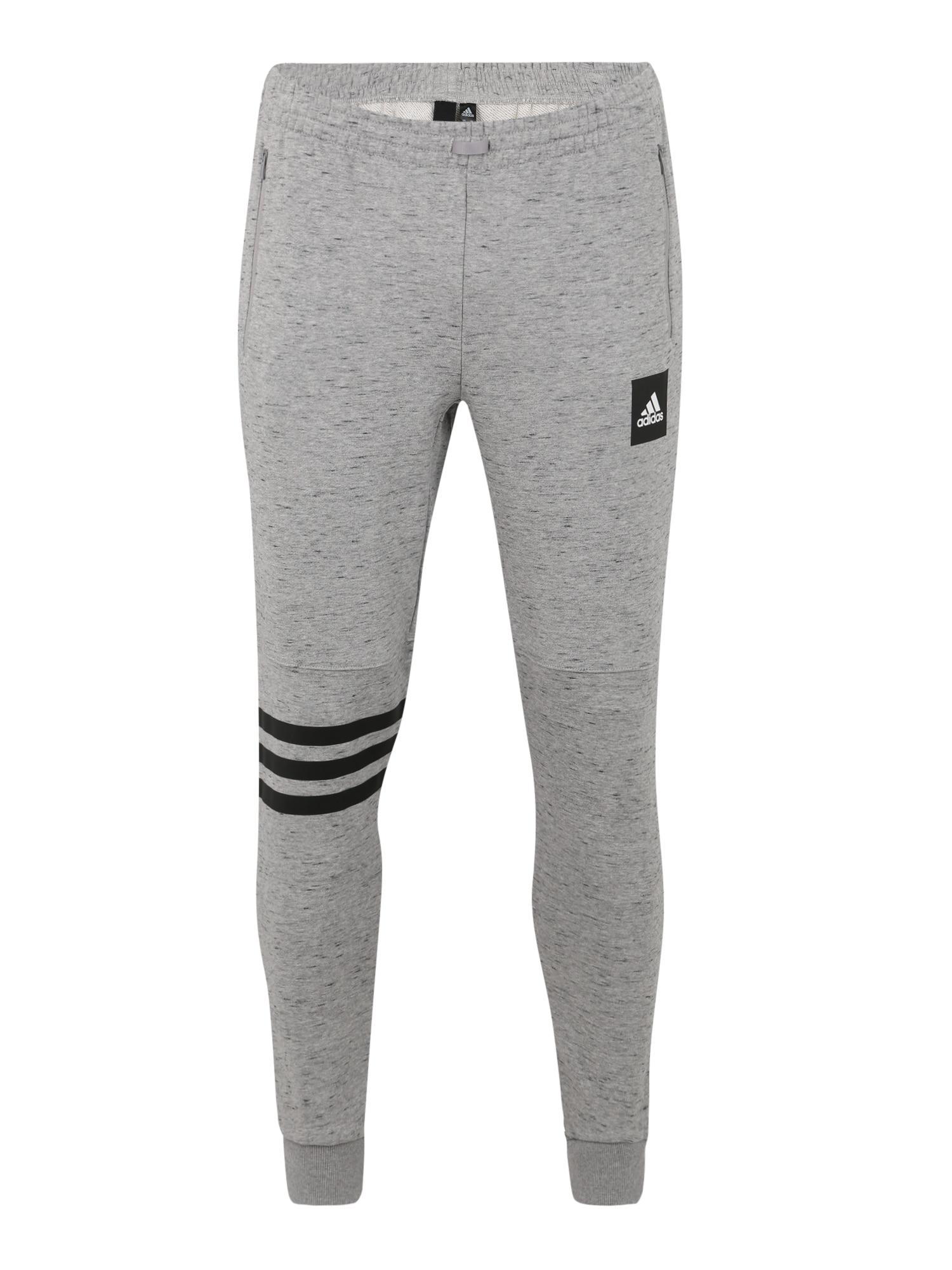 Sportovní kalhoty ID FAT TERRY PT šedá ADIDAS PERFORMANCE
