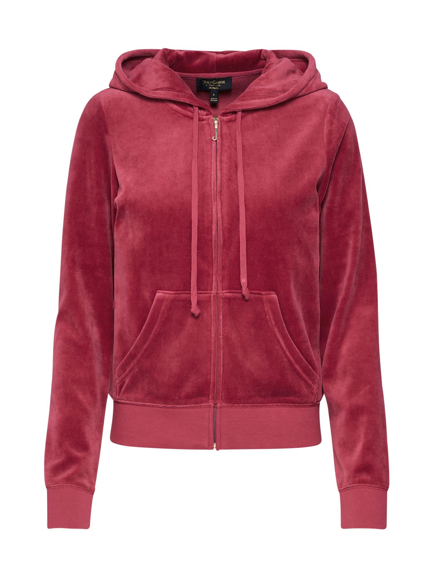 Mikina s kapucí červená Juicy Couture Black Label