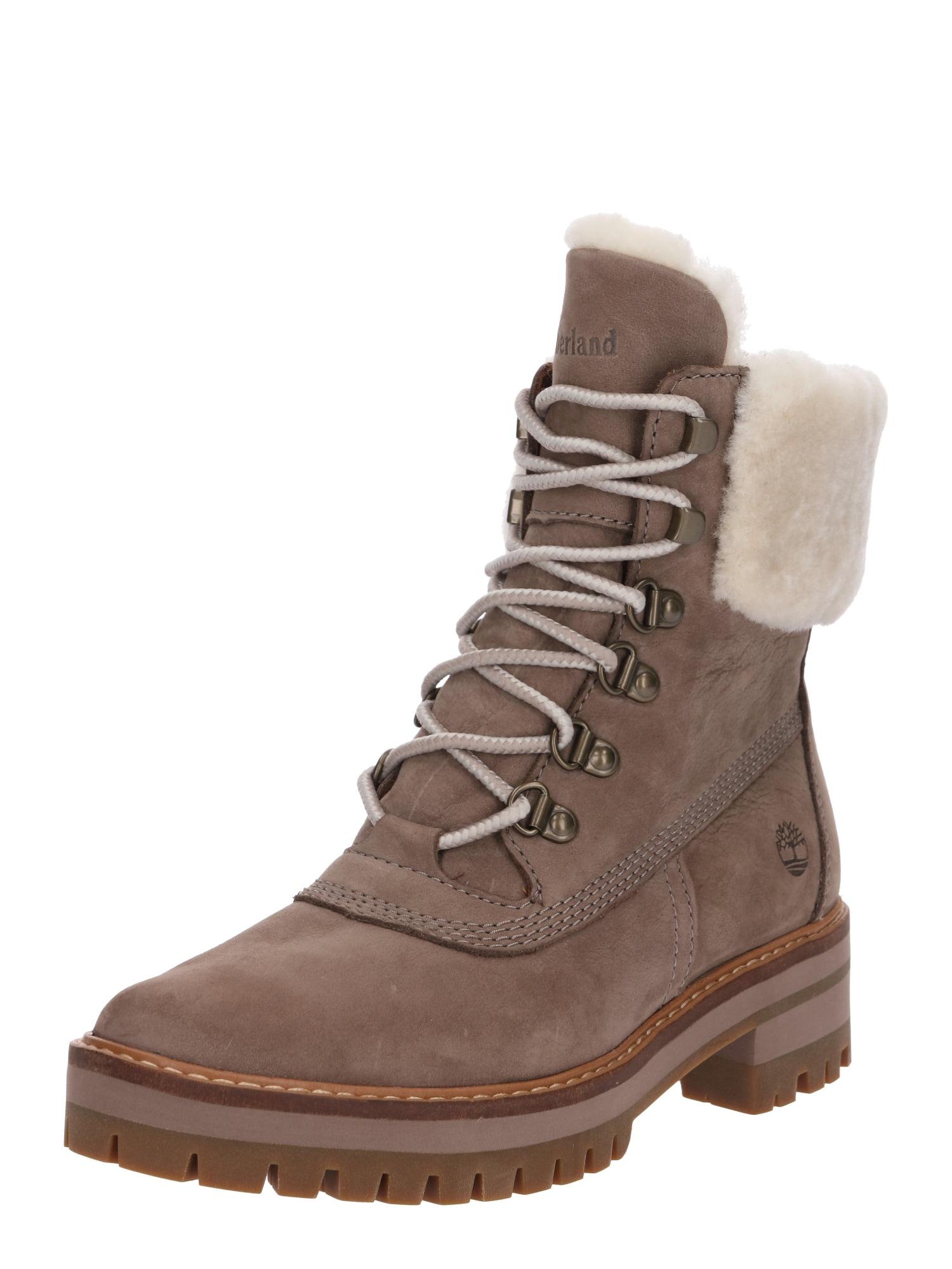 Šněrovací boty Shearlin šedobéžová bílá TIMBERLAND