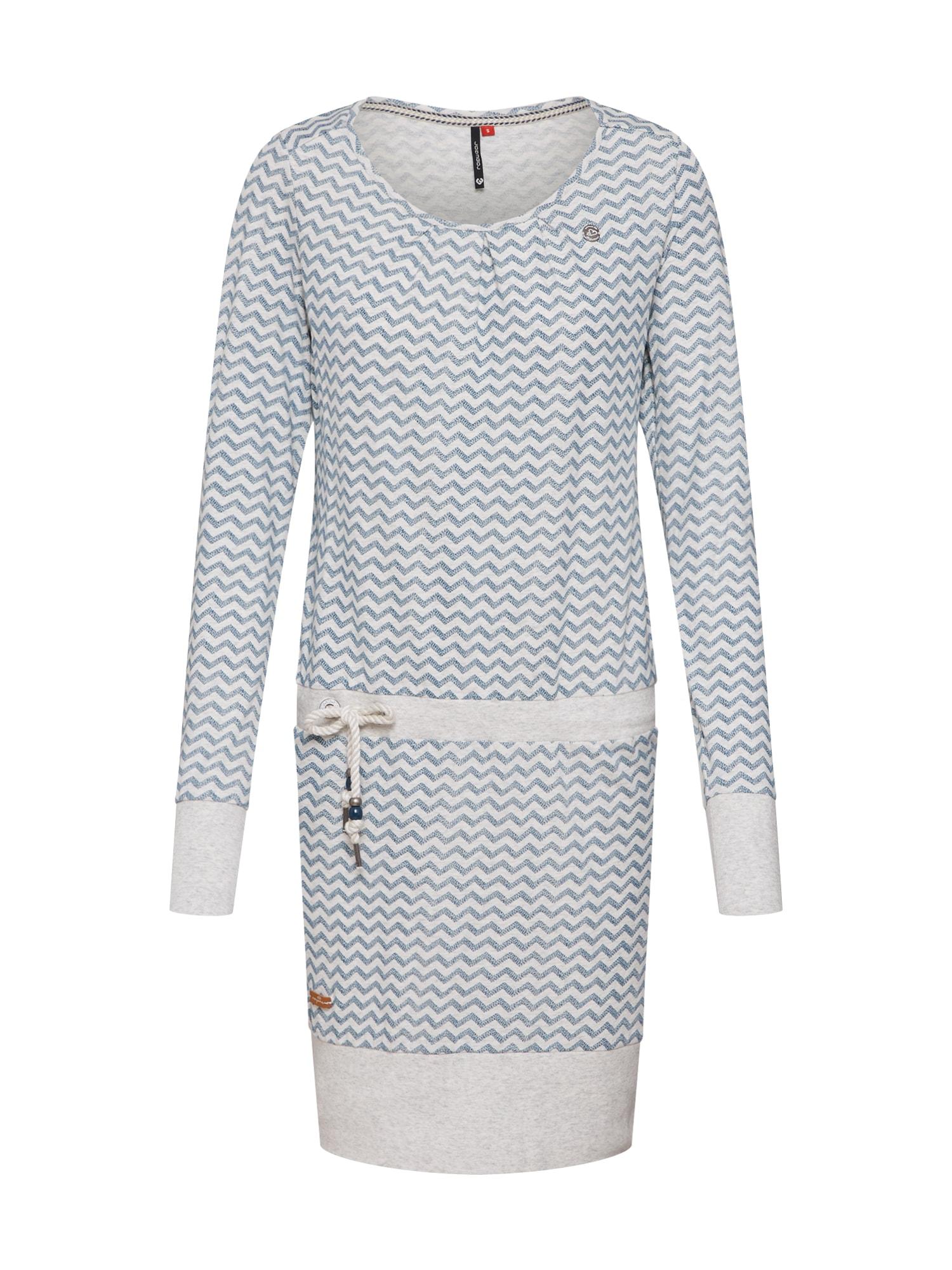 Šaty Alexa světlemodrá bílá Ragwear