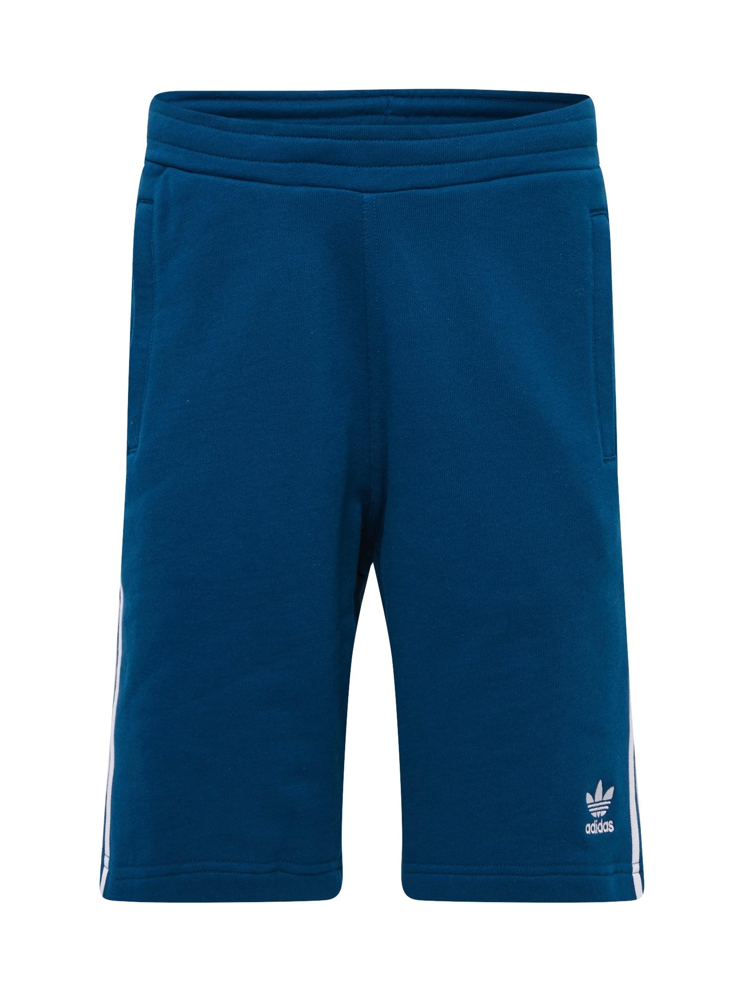Kalhoty modrá bílá ADIDAS ORIGINALS