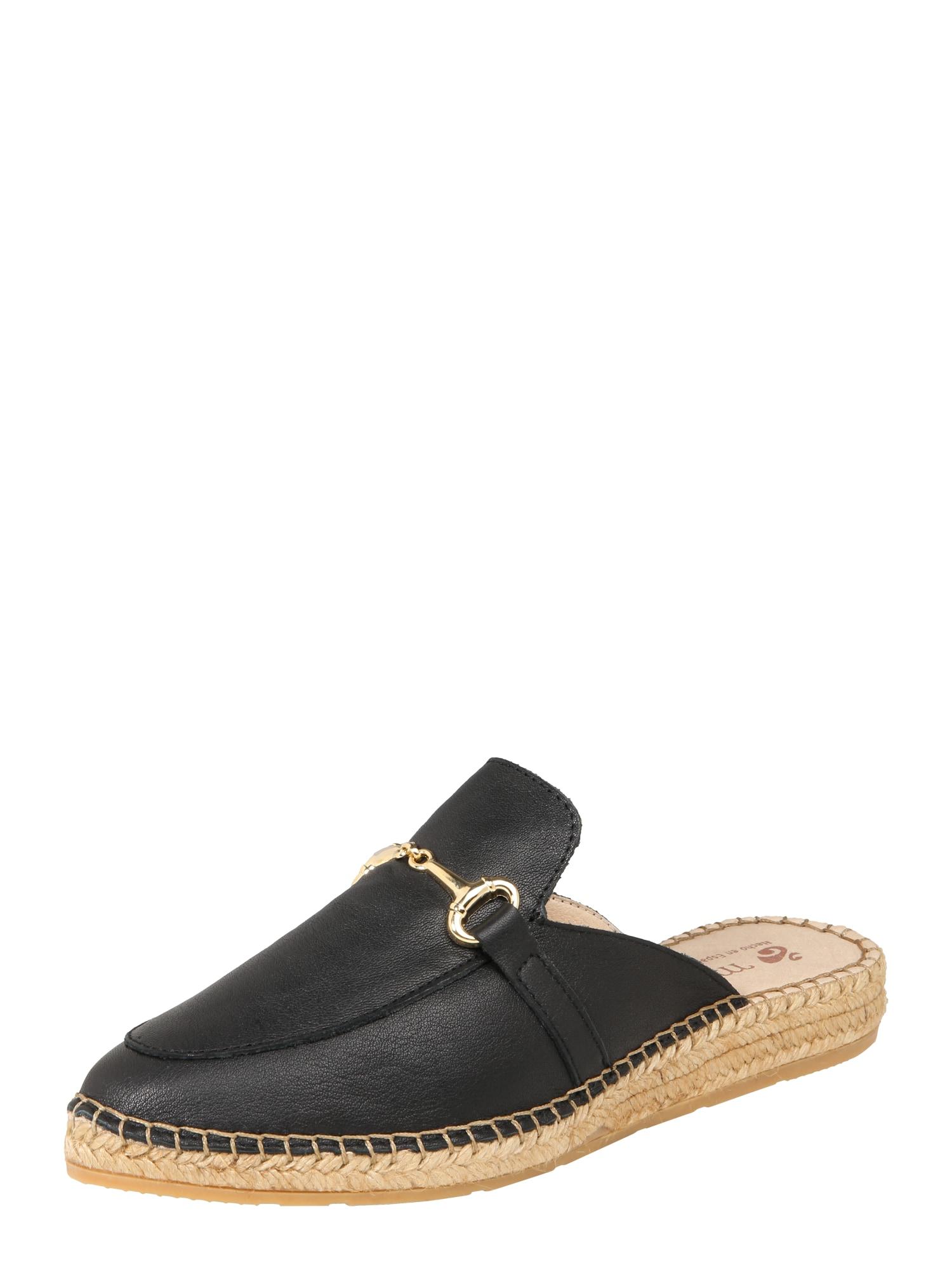 Pantofle IMA6 černá MACARENA