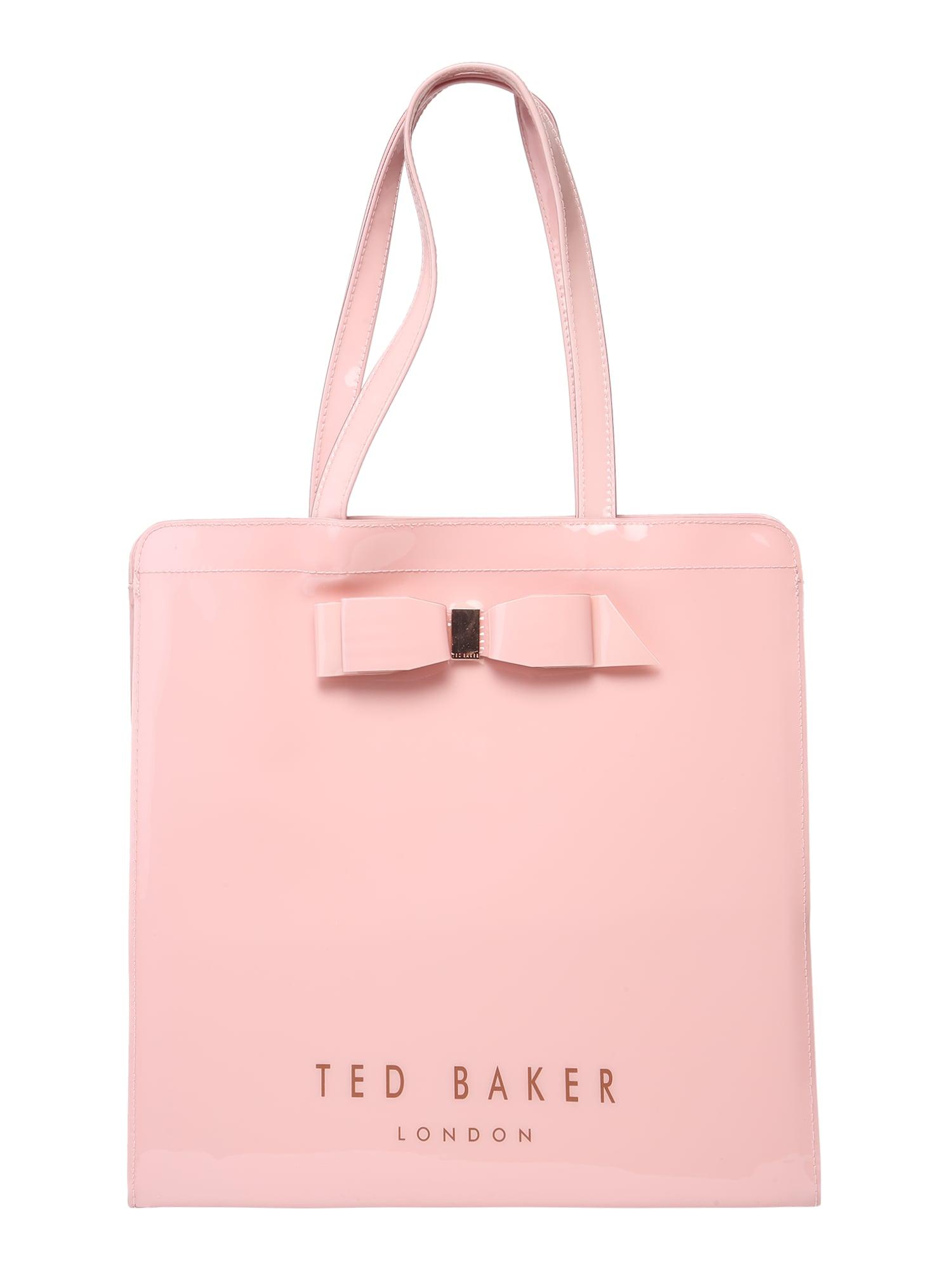 Nákupní taška Bow detail large bag růžová Ted Baker