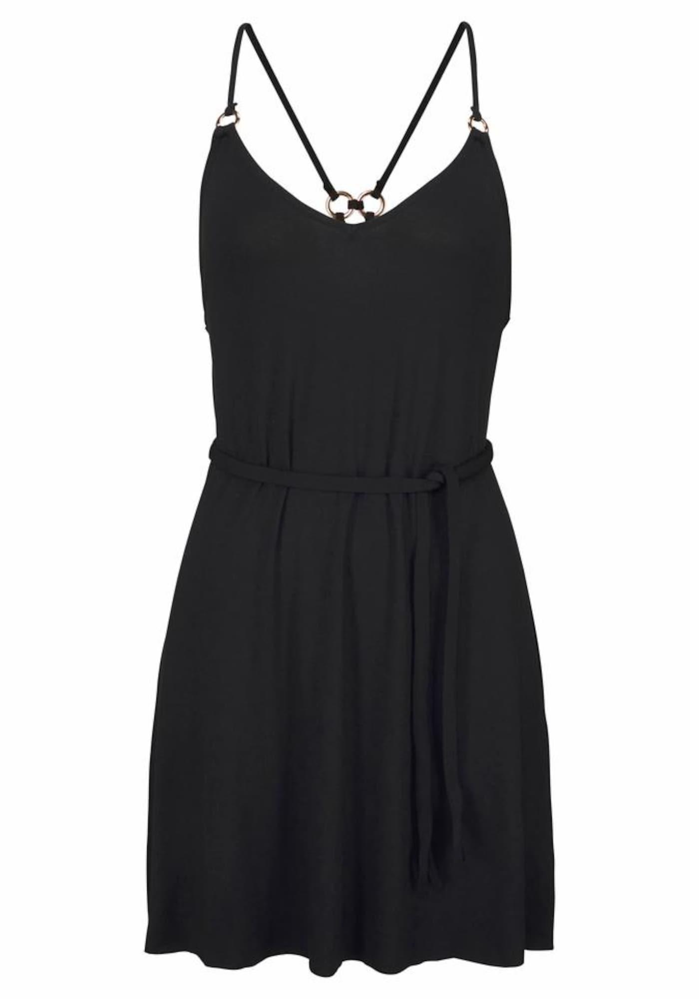 Strandkleid | Bekleidung > Kleider > Strandkleider | Schwarz | Lascana
